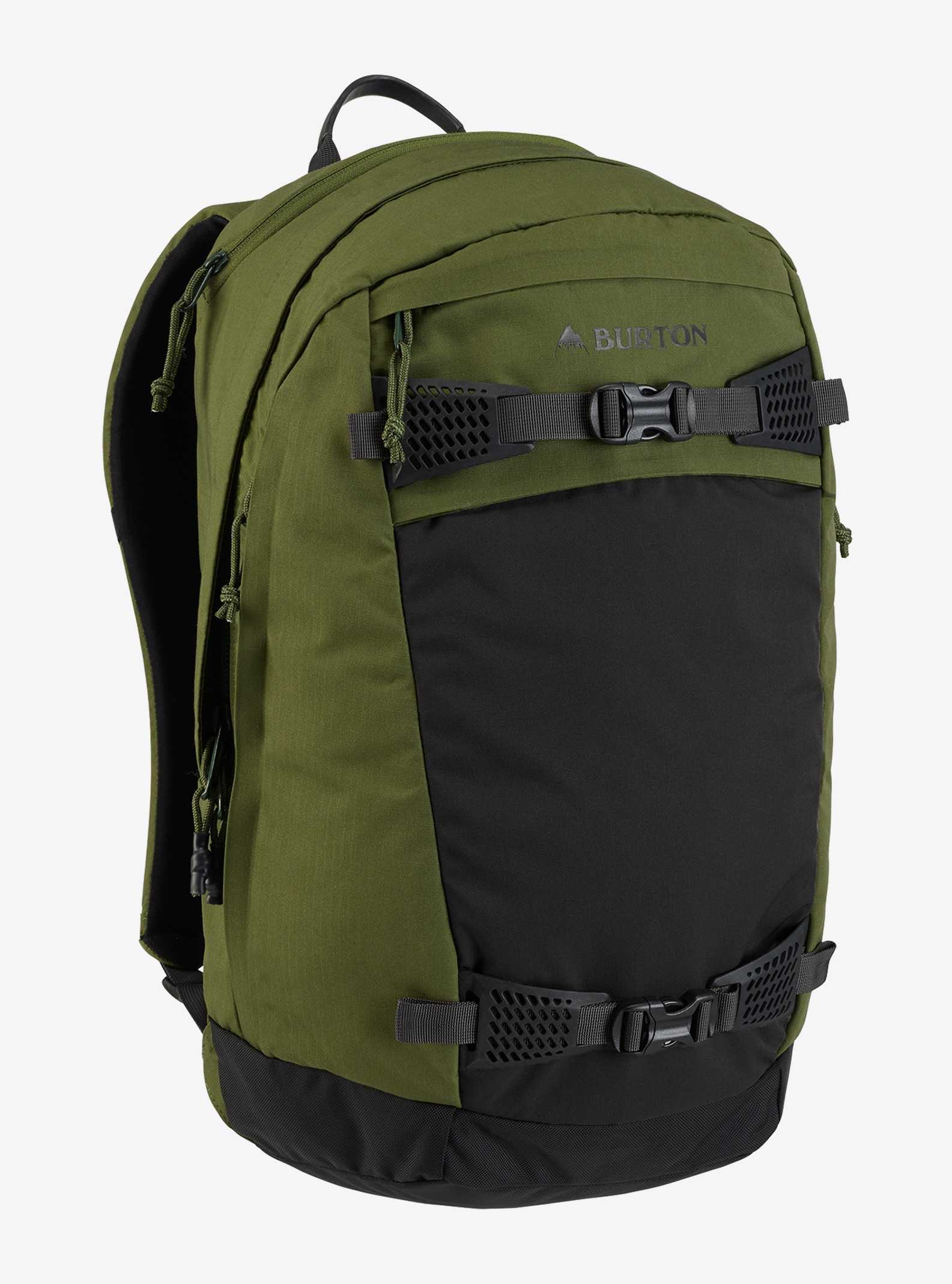 Burton Day Hiker 28L Backpack shown in Rifle Green Ripstop