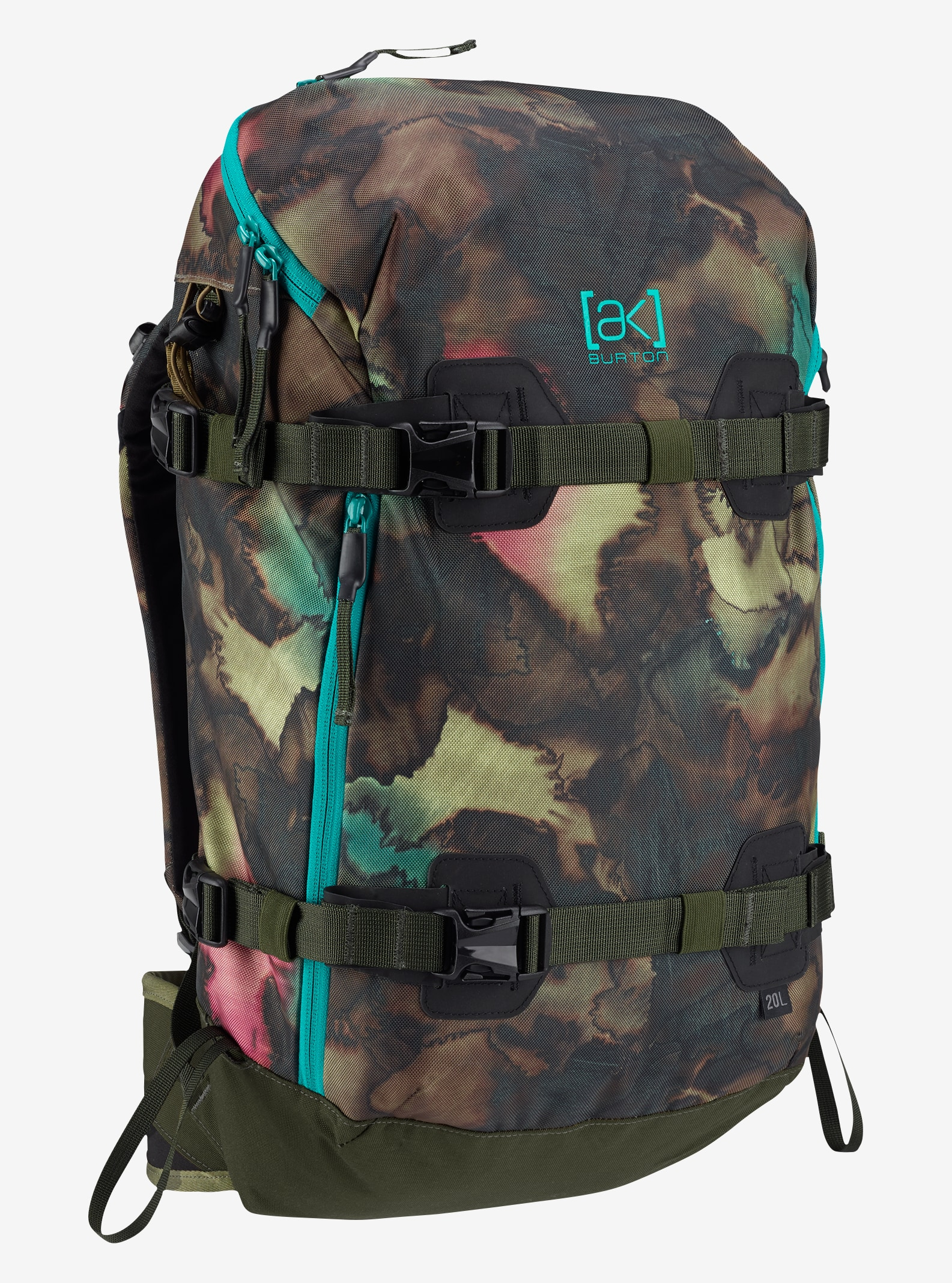 Burton Women's [ak] 20L Backpack shown in Tea Camo Print