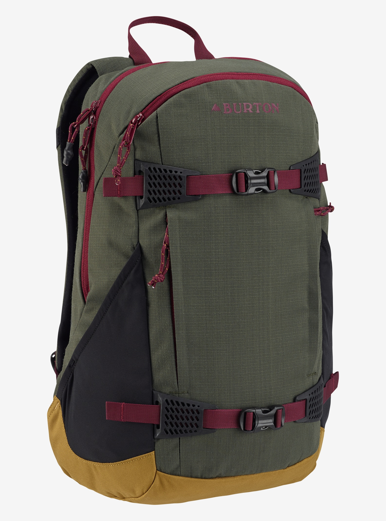 Burton Women's Day Hiker 25L Backpack shown in Forest Night Ripstop