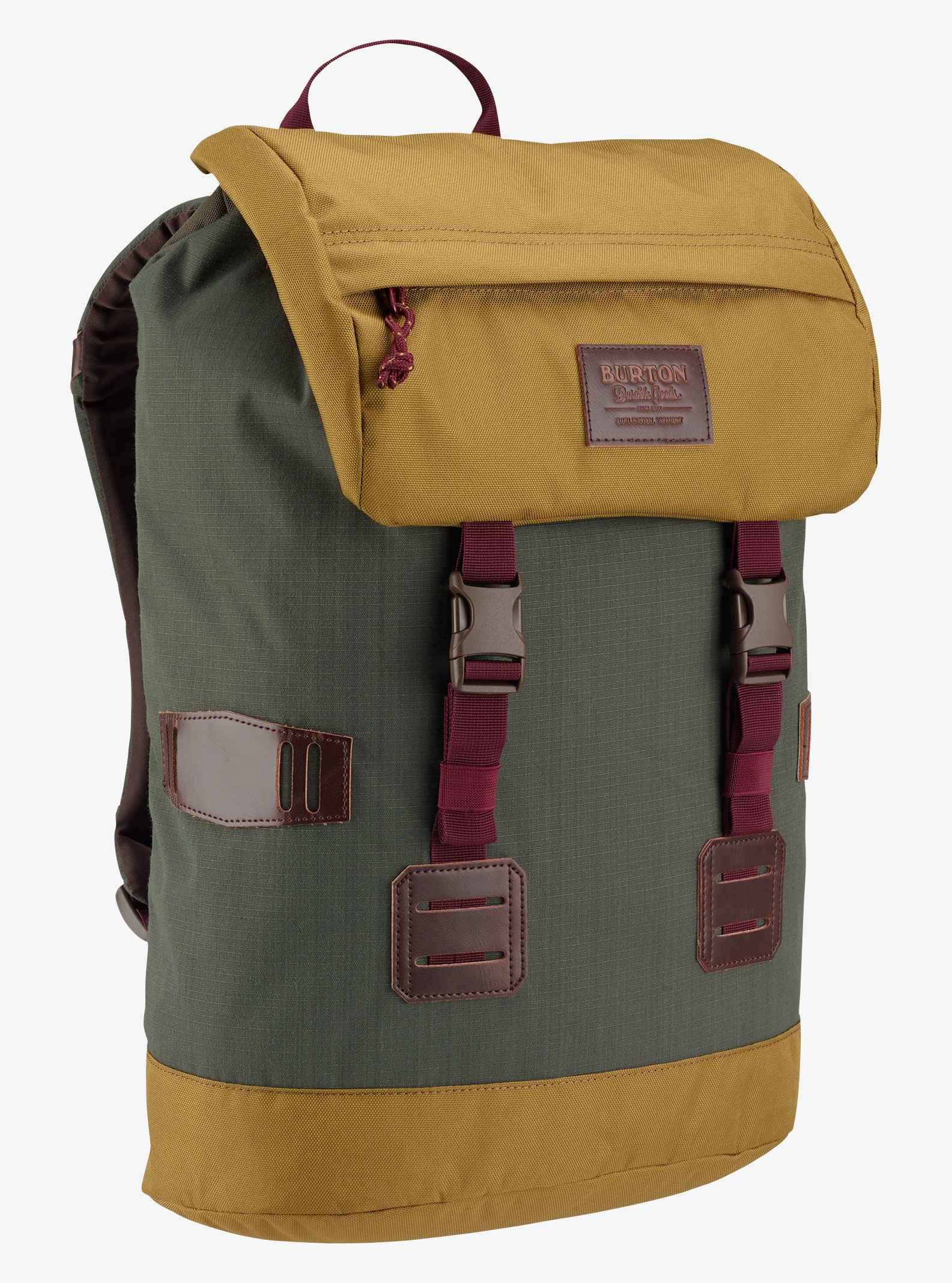 Burton Women's Tinder Backpack shown in Forest Night Ripstop
