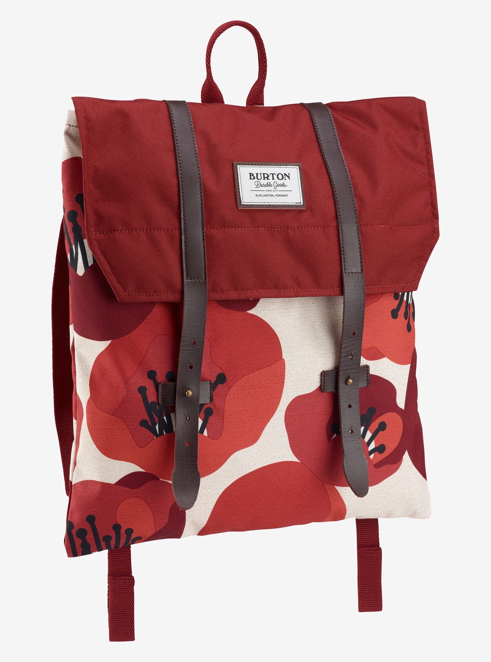 Burton Women's Taylor Backpack shown in Poppyfield Print