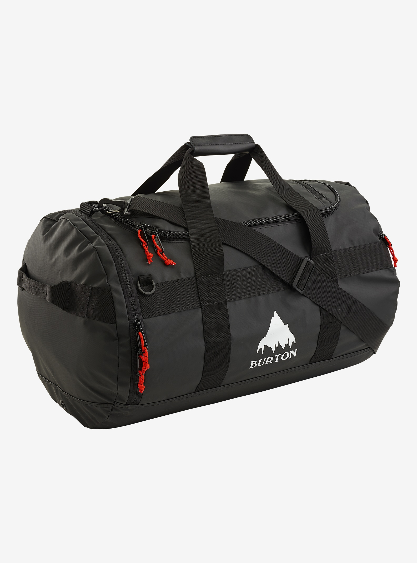 Burton Backhill Duffel Bag Medium 70L shown in True Black Tarp