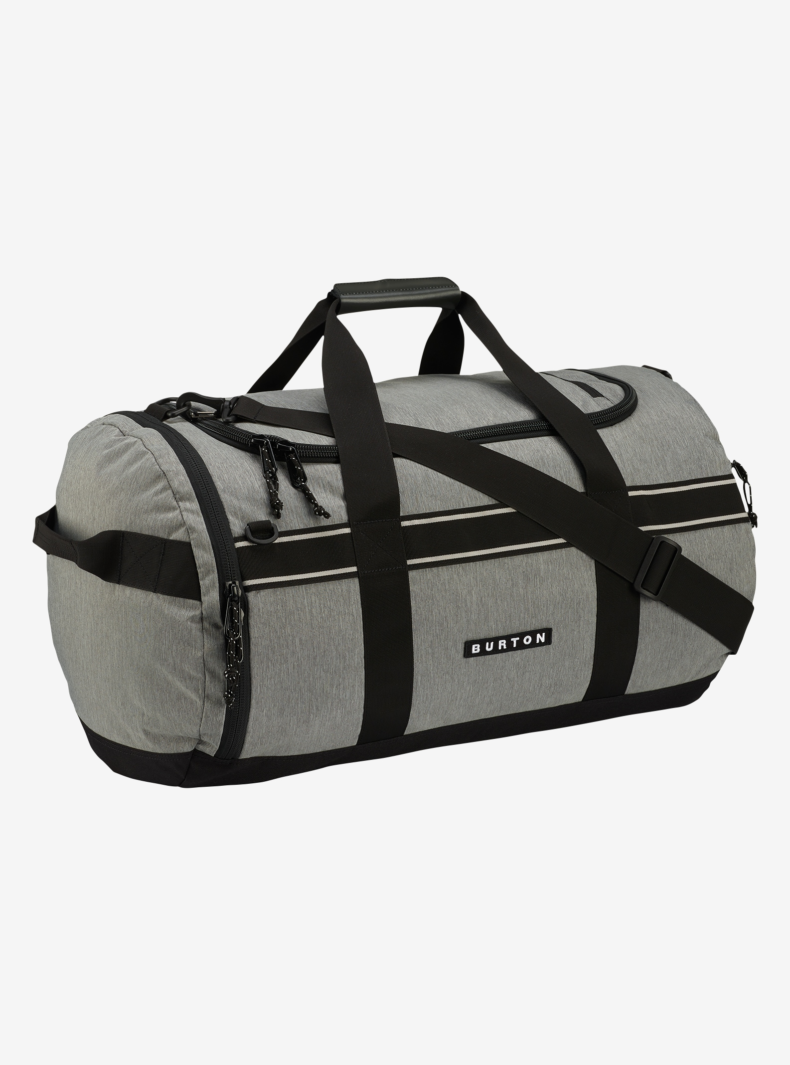 Burton Backhill Duffel Bag Medium 70L shown in Grey Heather