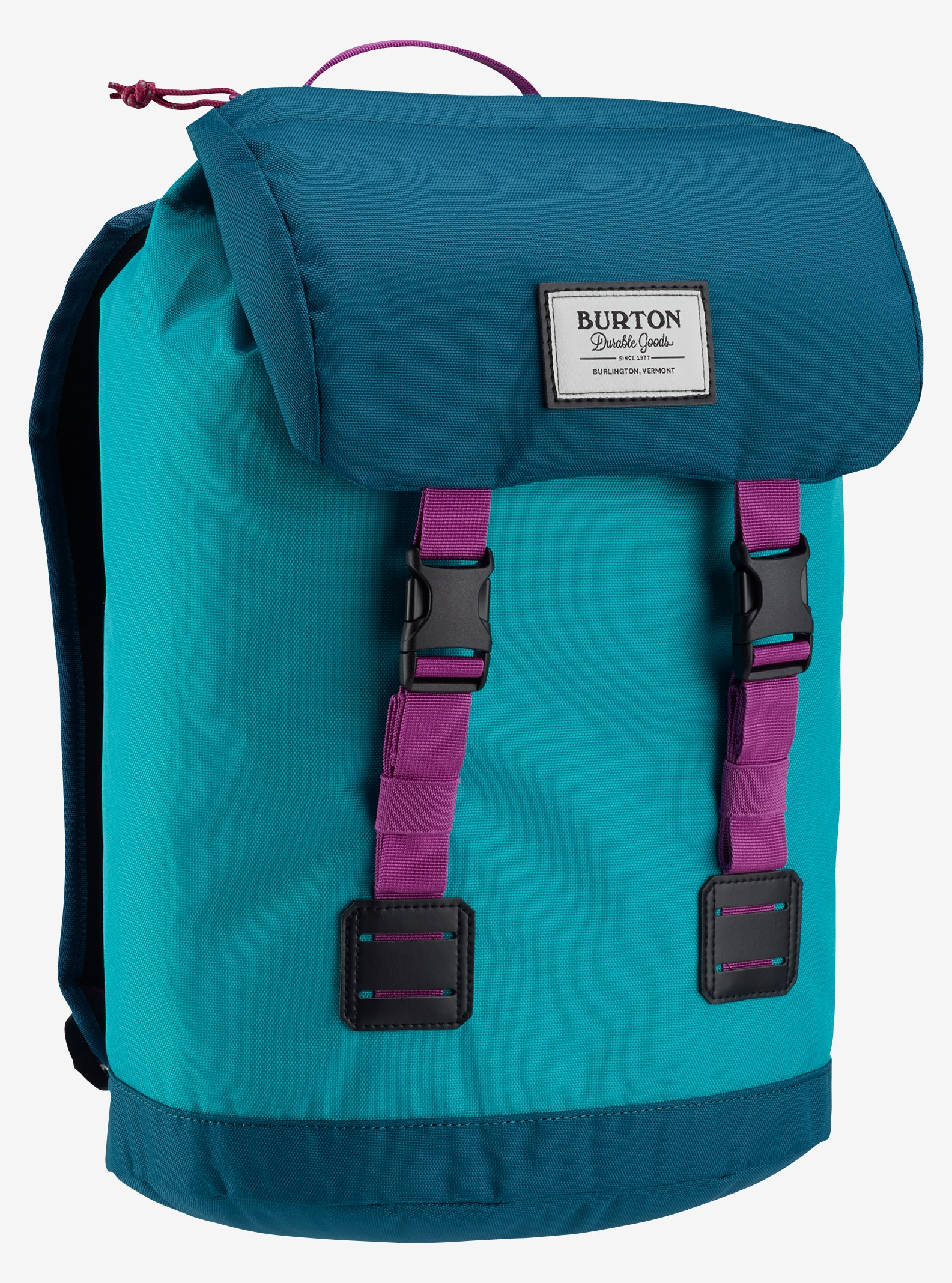Burton Kids' Tinder Backpack shown in Everglade