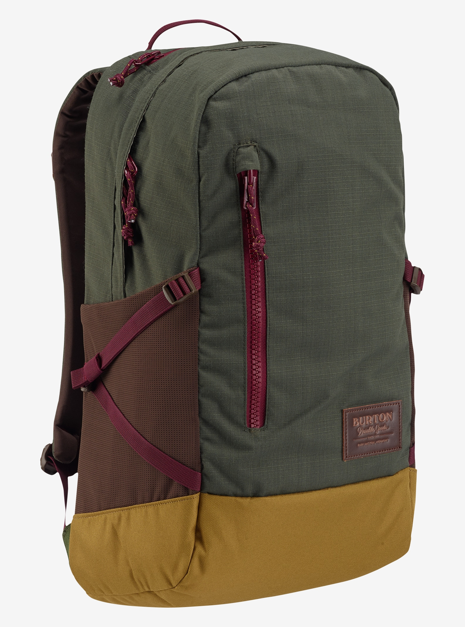 Burton Women's Prospect Backpack shown in Forest Night Ripstop