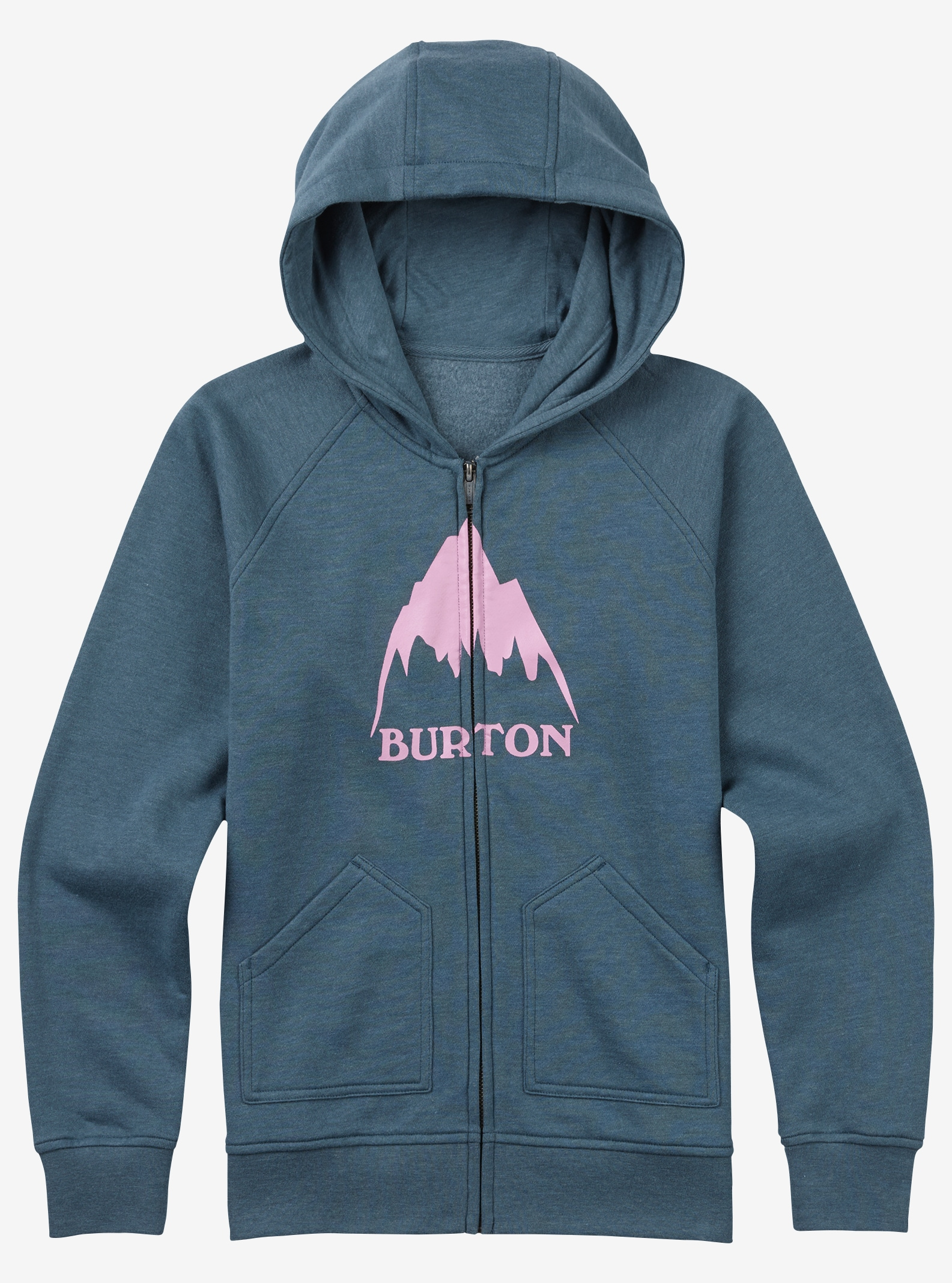 Girls' Burton Mountain Full‑Zip Hoodie shown in LA Sky