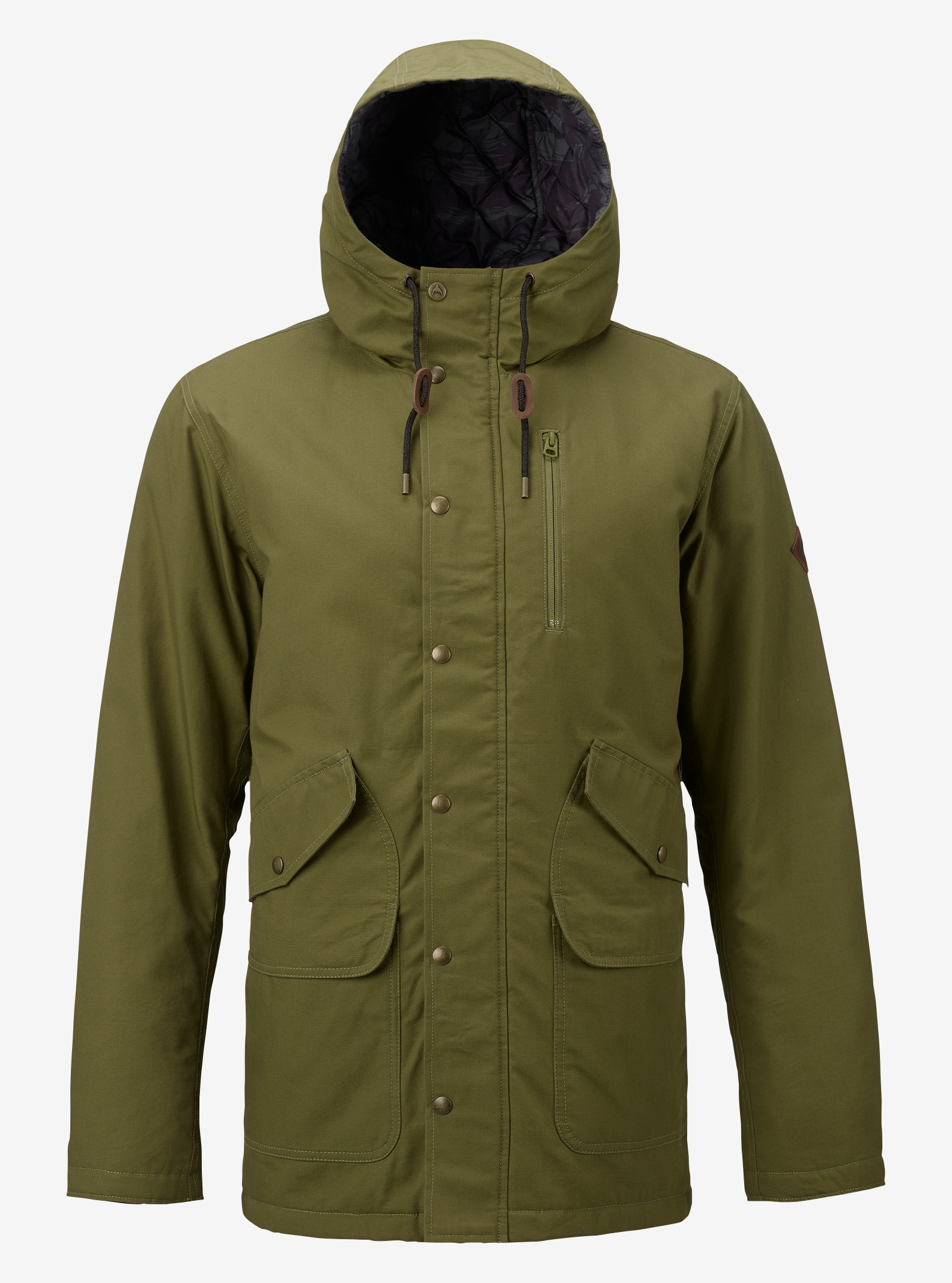 Men's Burton Sherman Jacket shown in Olive Branch