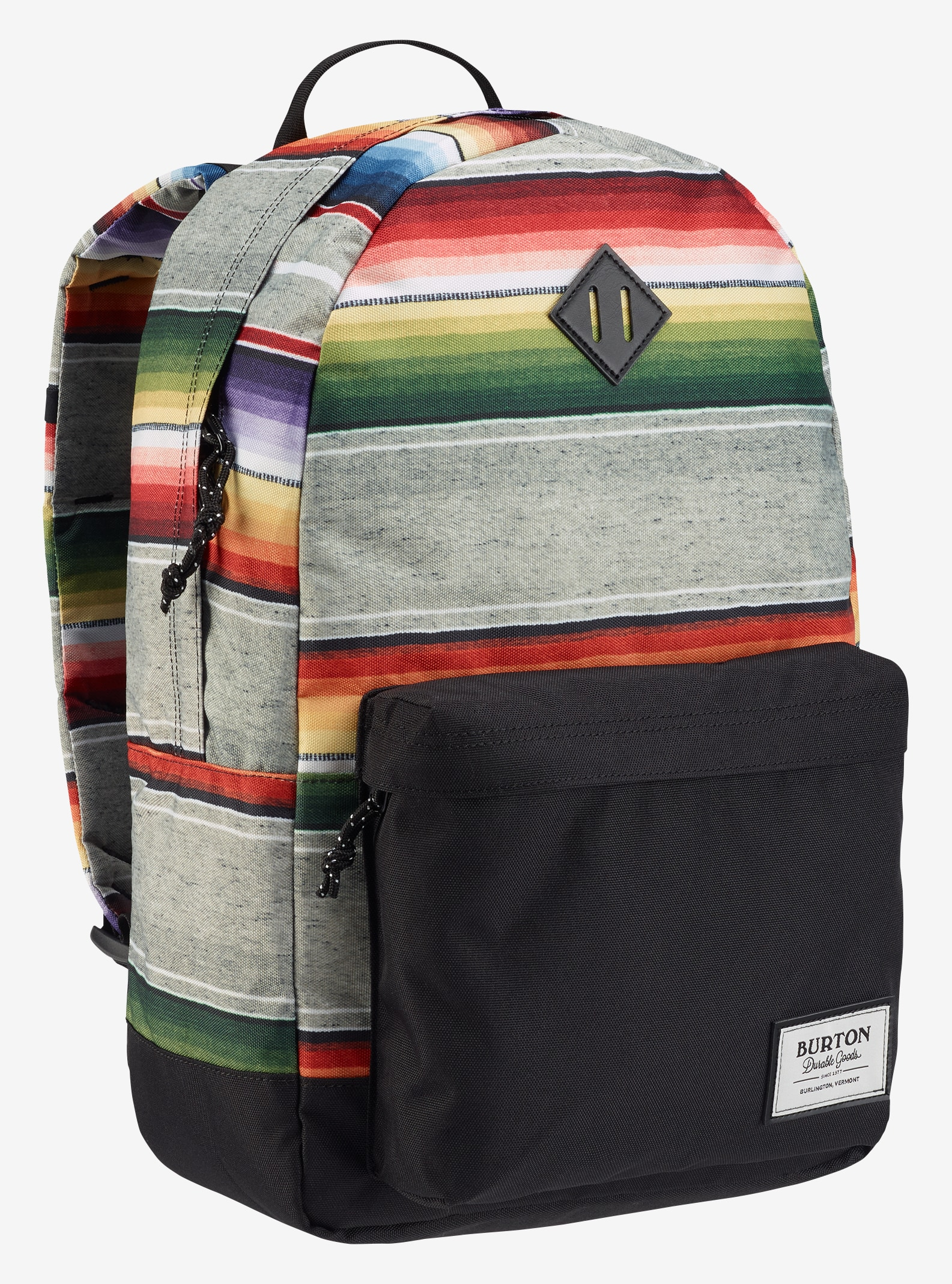 Burton Kettle Backpack shown in Bright Sinola Stripe Print