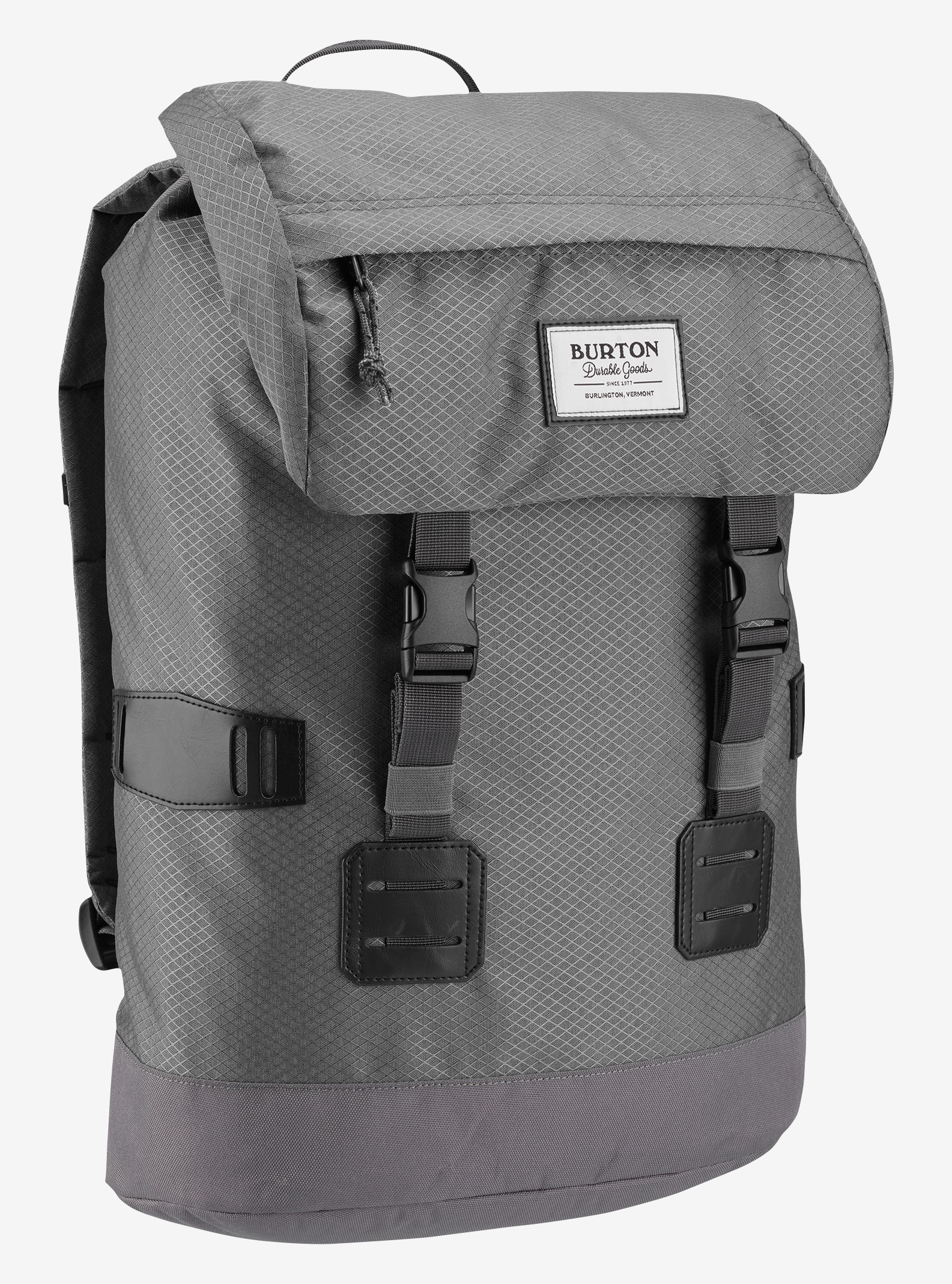 Burton Tinder Backpack shown in Faded Diamond Ripstop