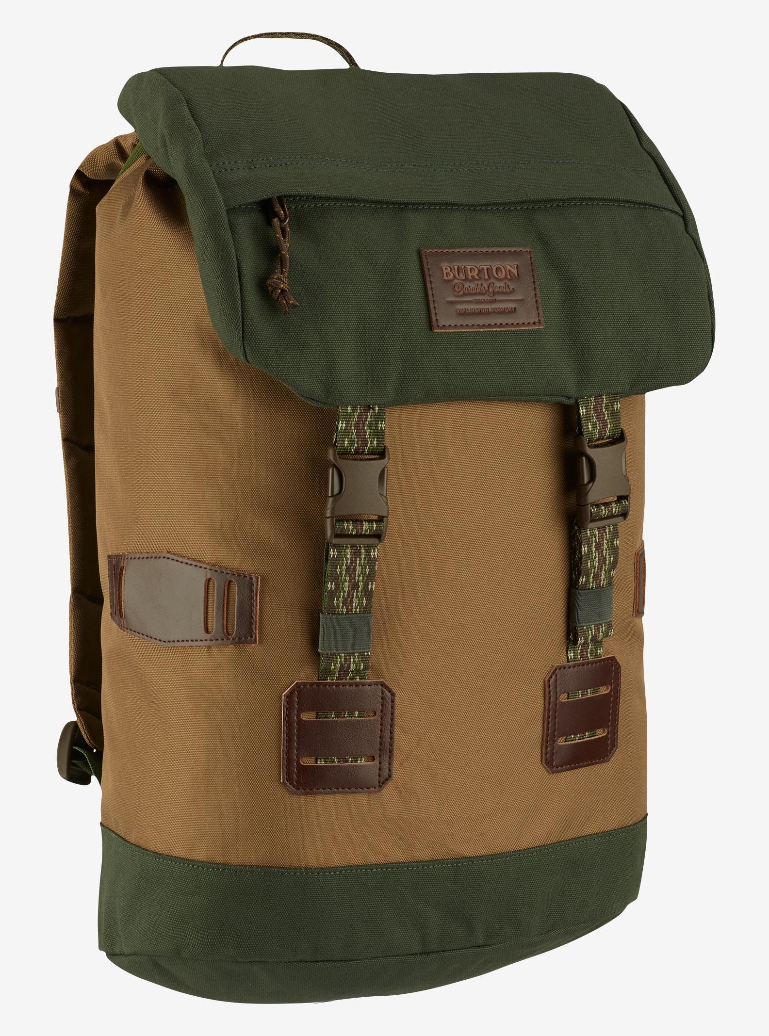 Burton Tinder Backpack shown in Kelp Coated