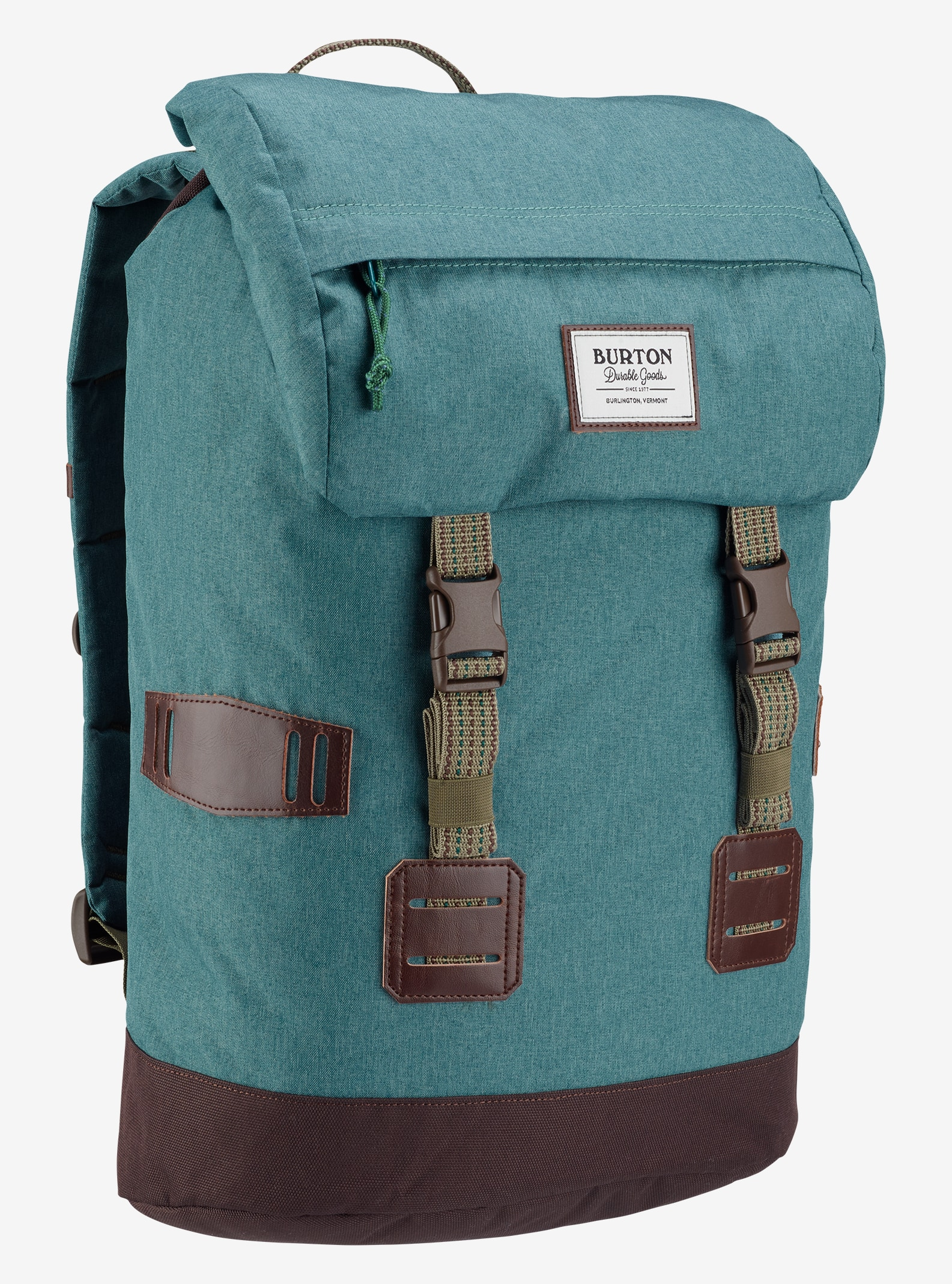 Burton Tinder Backpack shown in Jasper Heather