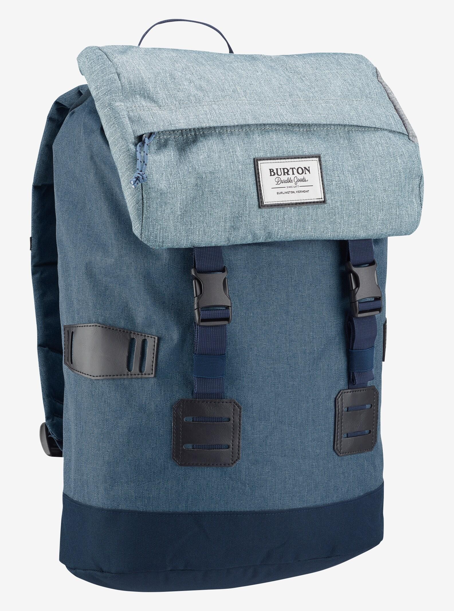 Burton Tinder Backpack shown in LA Sky Heather