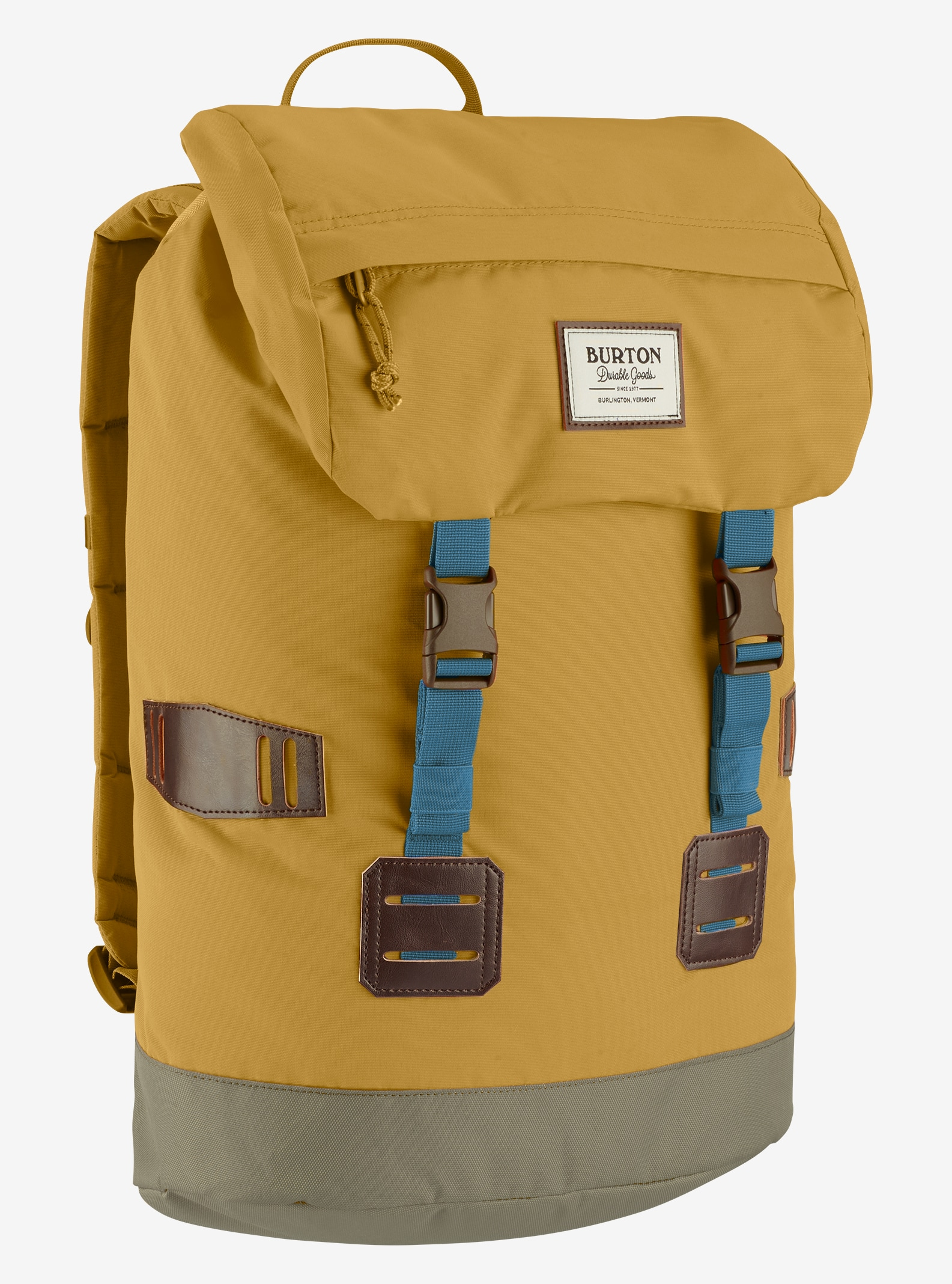 Burton Tinder Backpack shown in Harvest Gold
