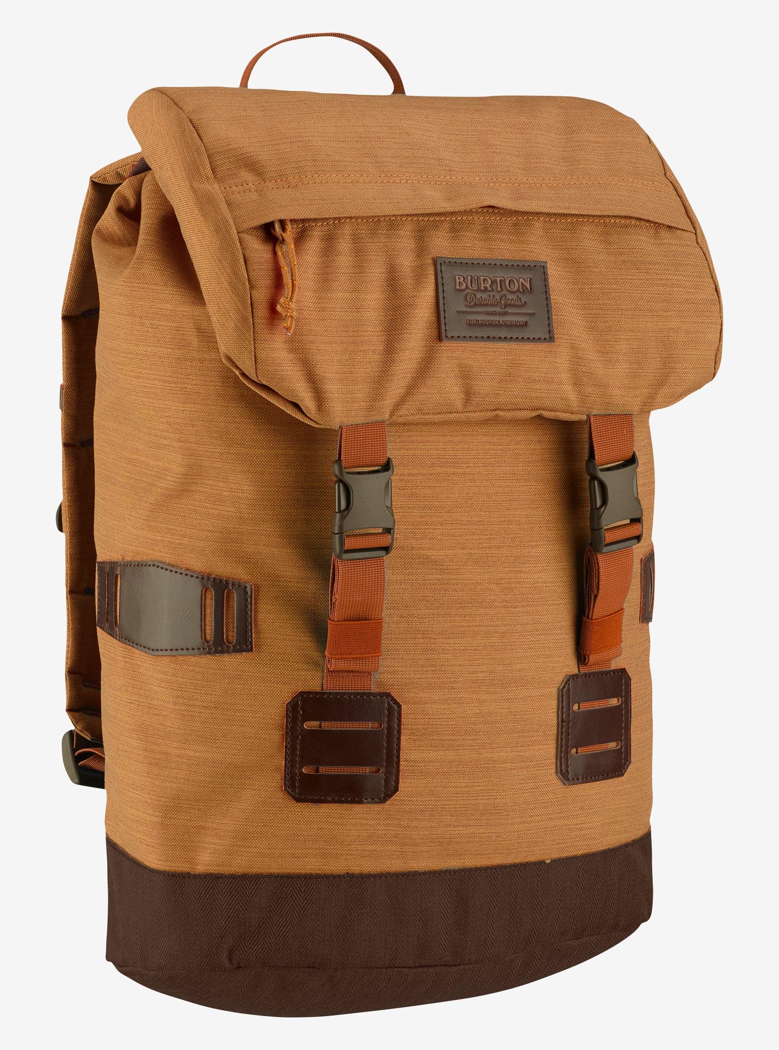 Burton Tinder Backpack shown in Golden Oak Slub