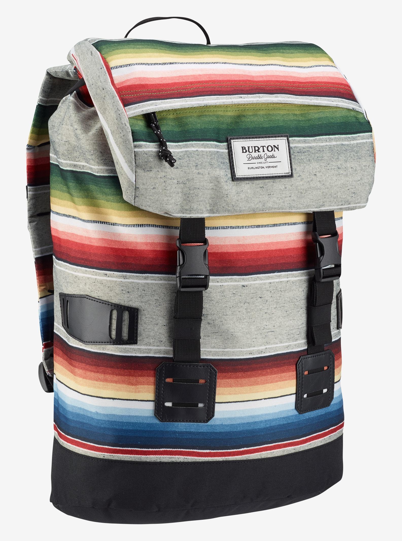 Burton Tinder Backpack shown in Bright Sinola Stripe Print