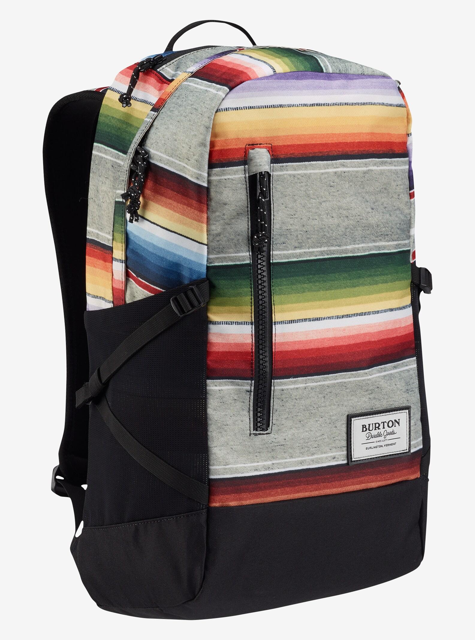 Burton Prospect Backpack shown in Bright Sinola Stripe Print