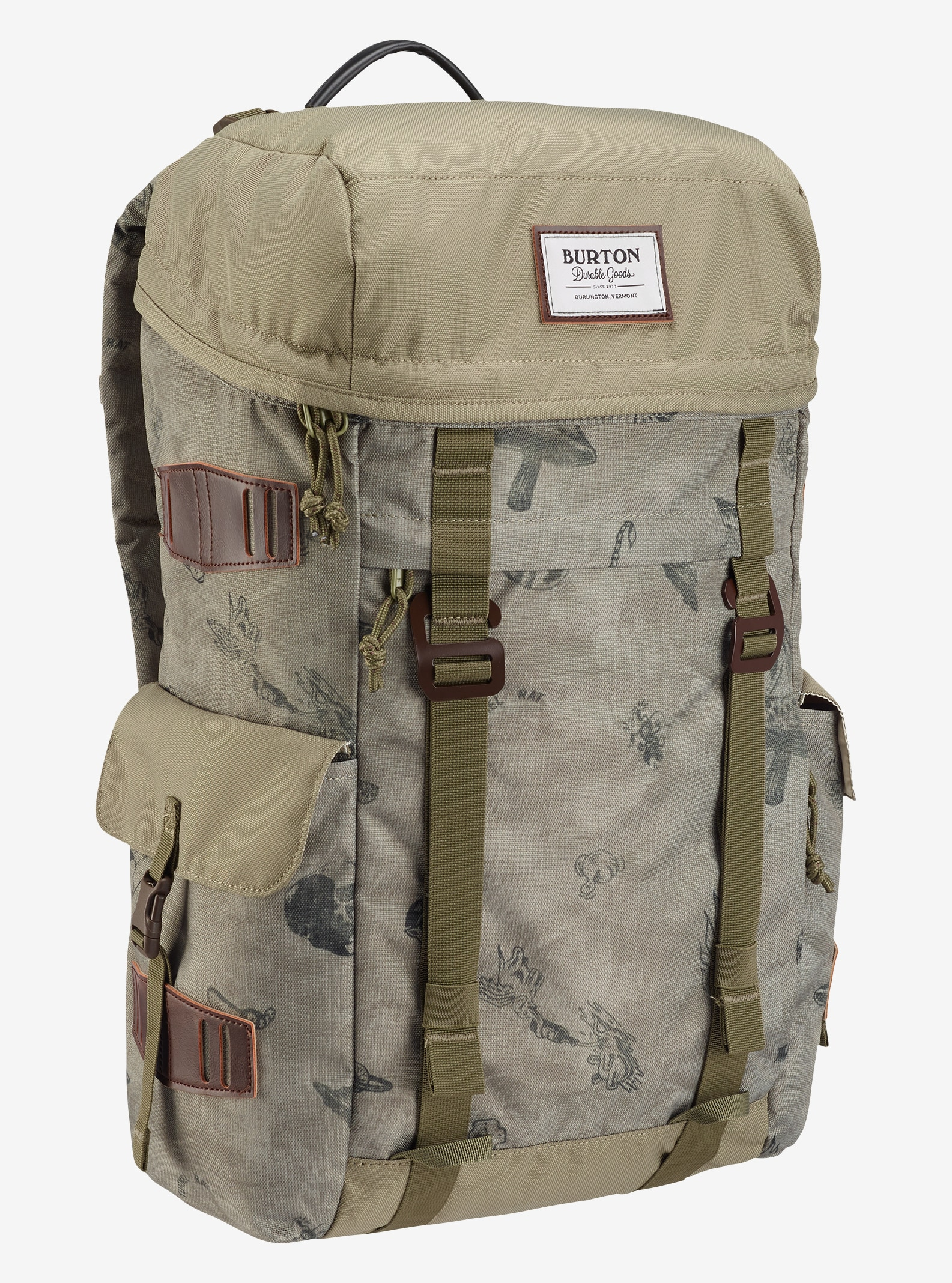 Burton Annex Backpack shown in Artifact Print