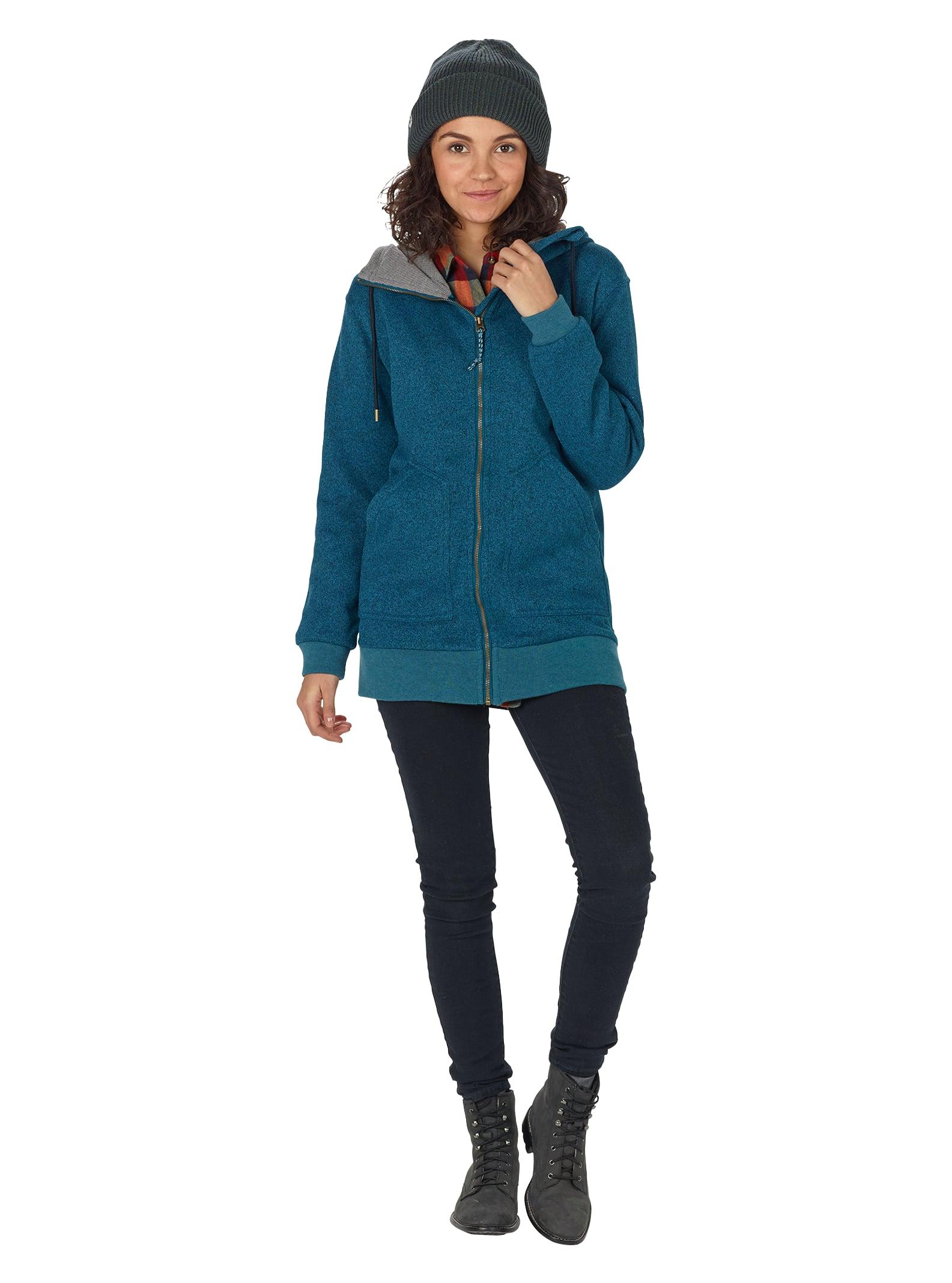 53e87c8c9d1 Women's Burton Minxy Fleece Full-Zip Hoodie