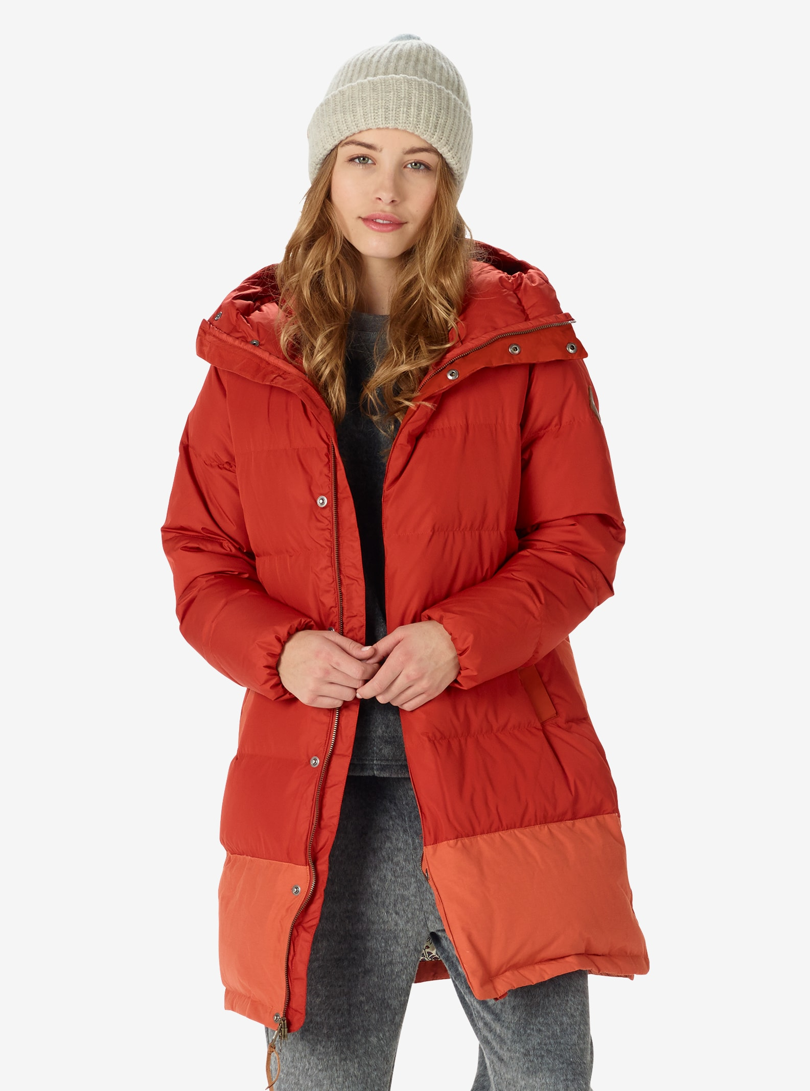 Women's Burton Nottaway Jacket shown in Bitters / Persimmon