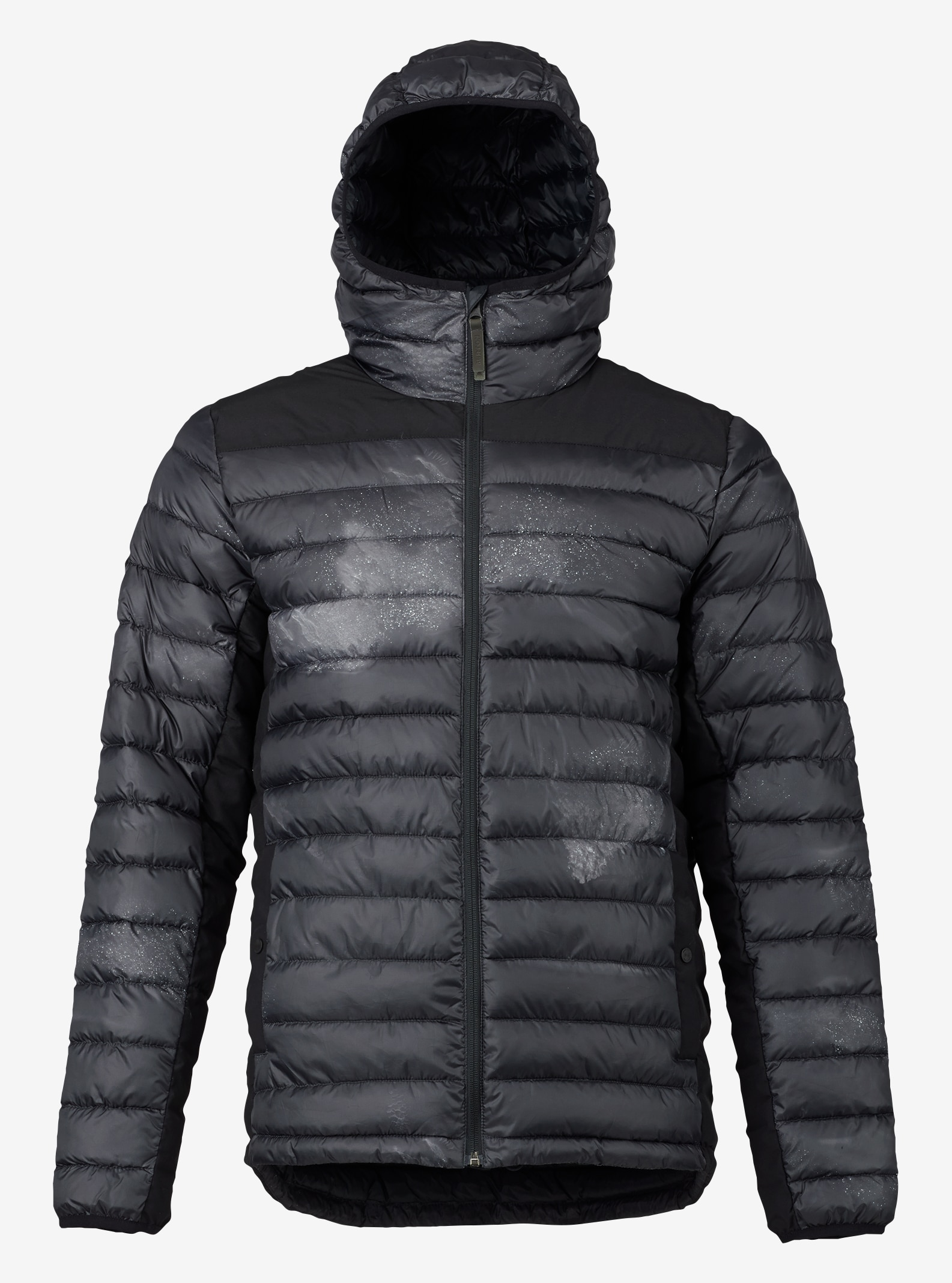 Men's Burton Evergreen Hooded Synthetic Insulator shown in Zepheria / True Black