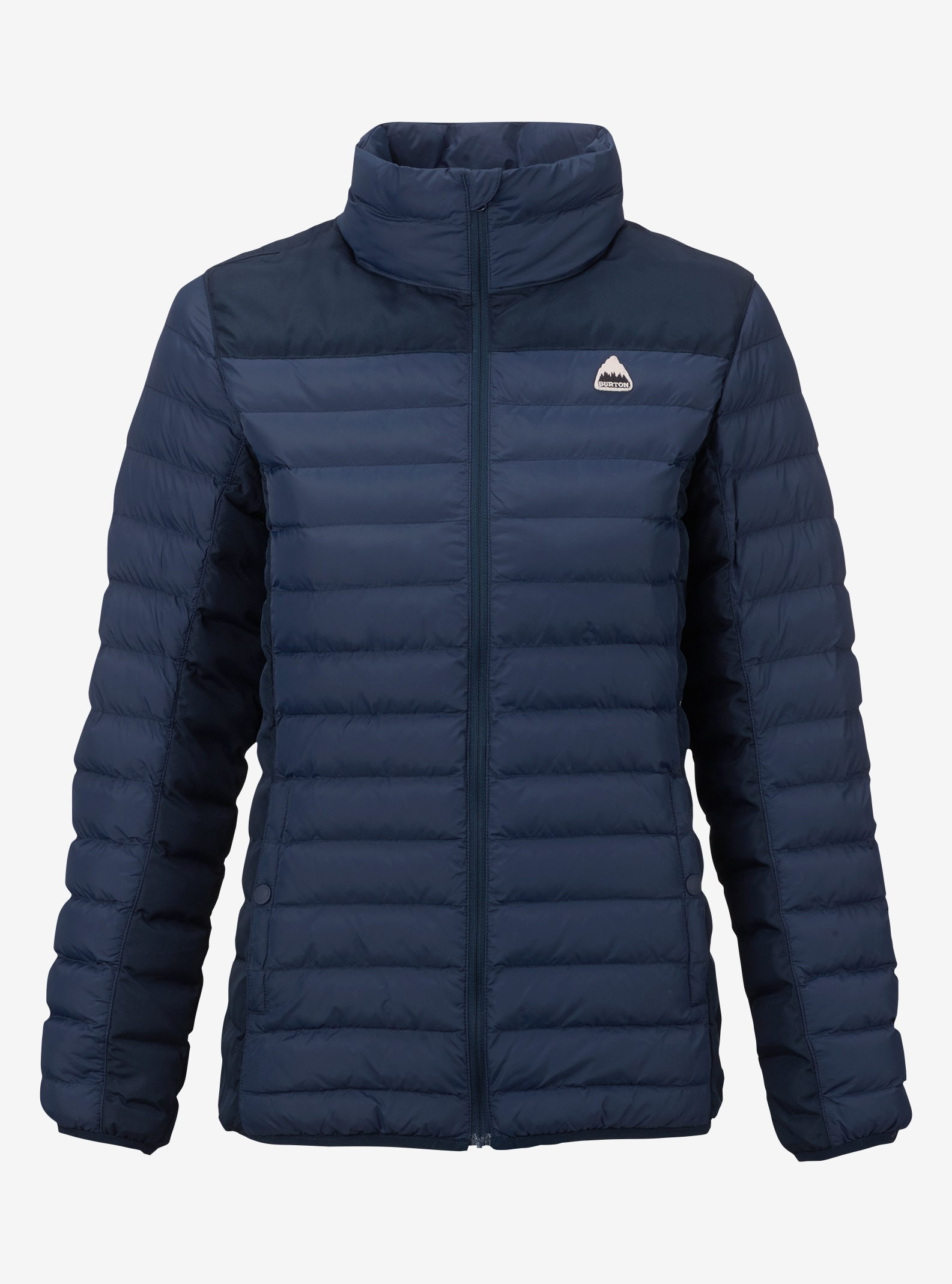 Women's Burton Lyndon Synthetic Collar Insulator shown in Mood Indigo