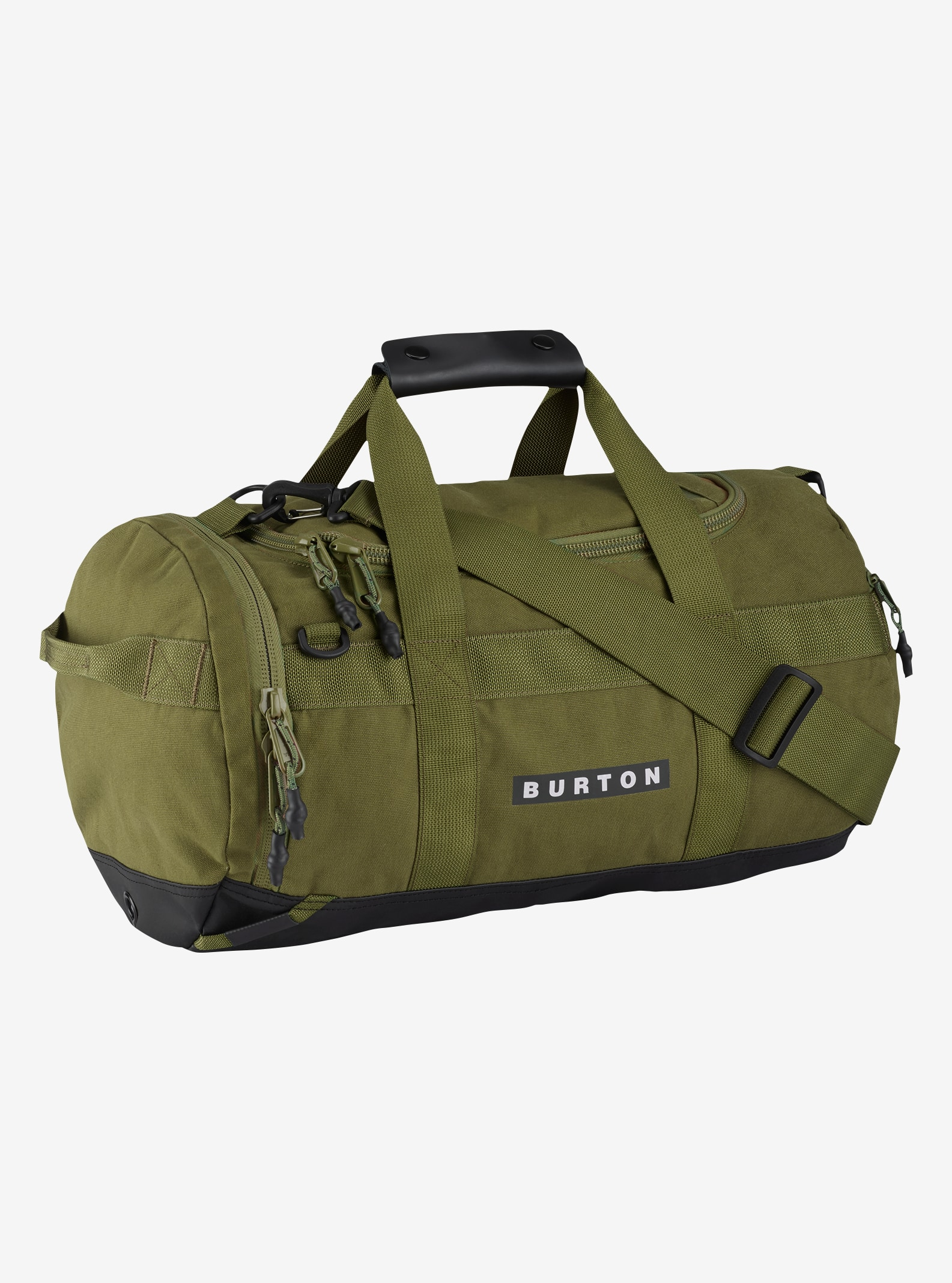 Burton Backhill Duffel Bag X-Small 25L shown in Olive Branch Cotton Cordura®
