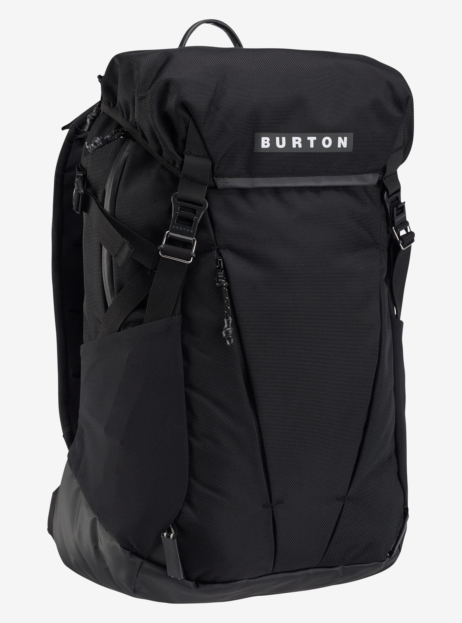 Burton Spruce Backpack shown in True Black Ballistic