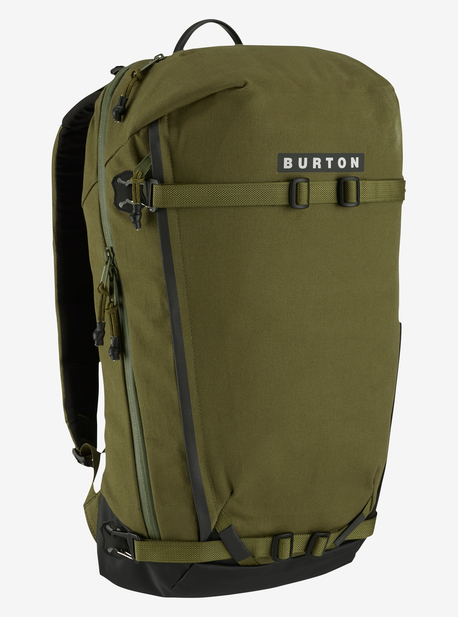 Burton Gorge Backpack shown in Olive Branch Cotton Cordura®