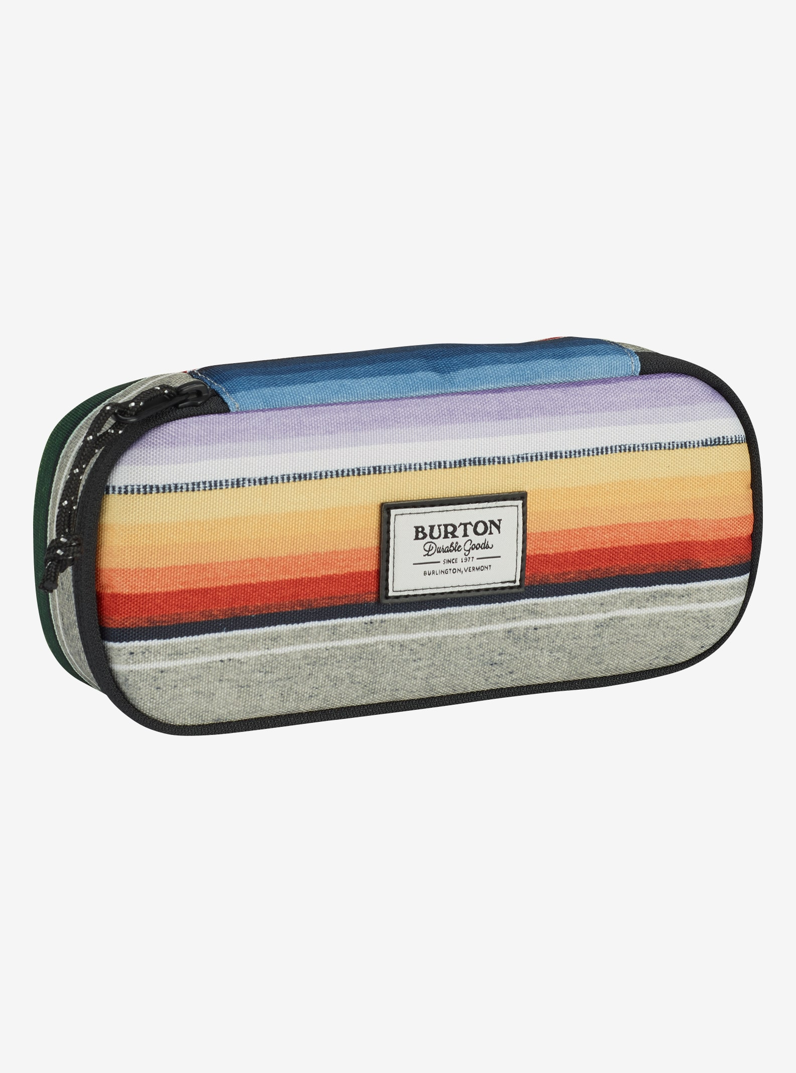 Burton Switchback Case shown in Bright Sinola Stripe Print