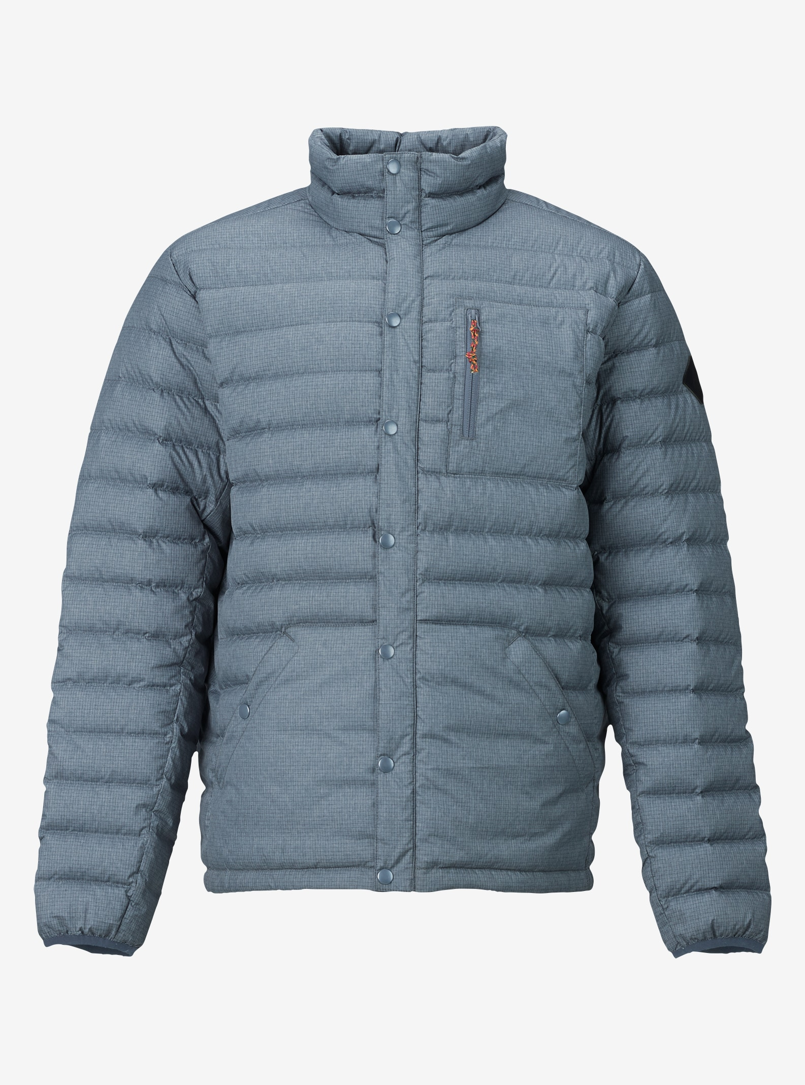 Men's Burton Evergreen Down Insulator shown in LA Sky Heather