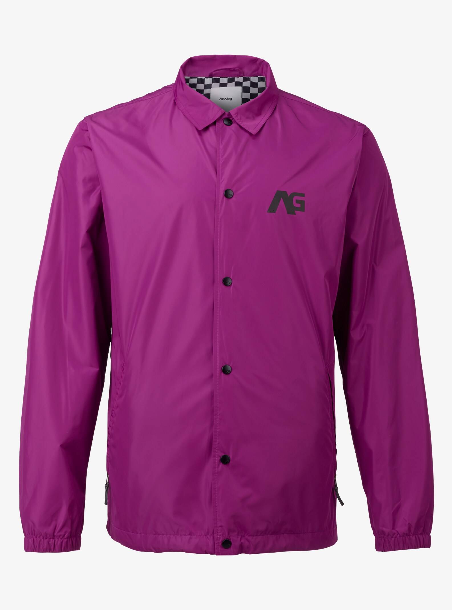Men's Analog Campton Coaches Jacket shown in Grapeseed