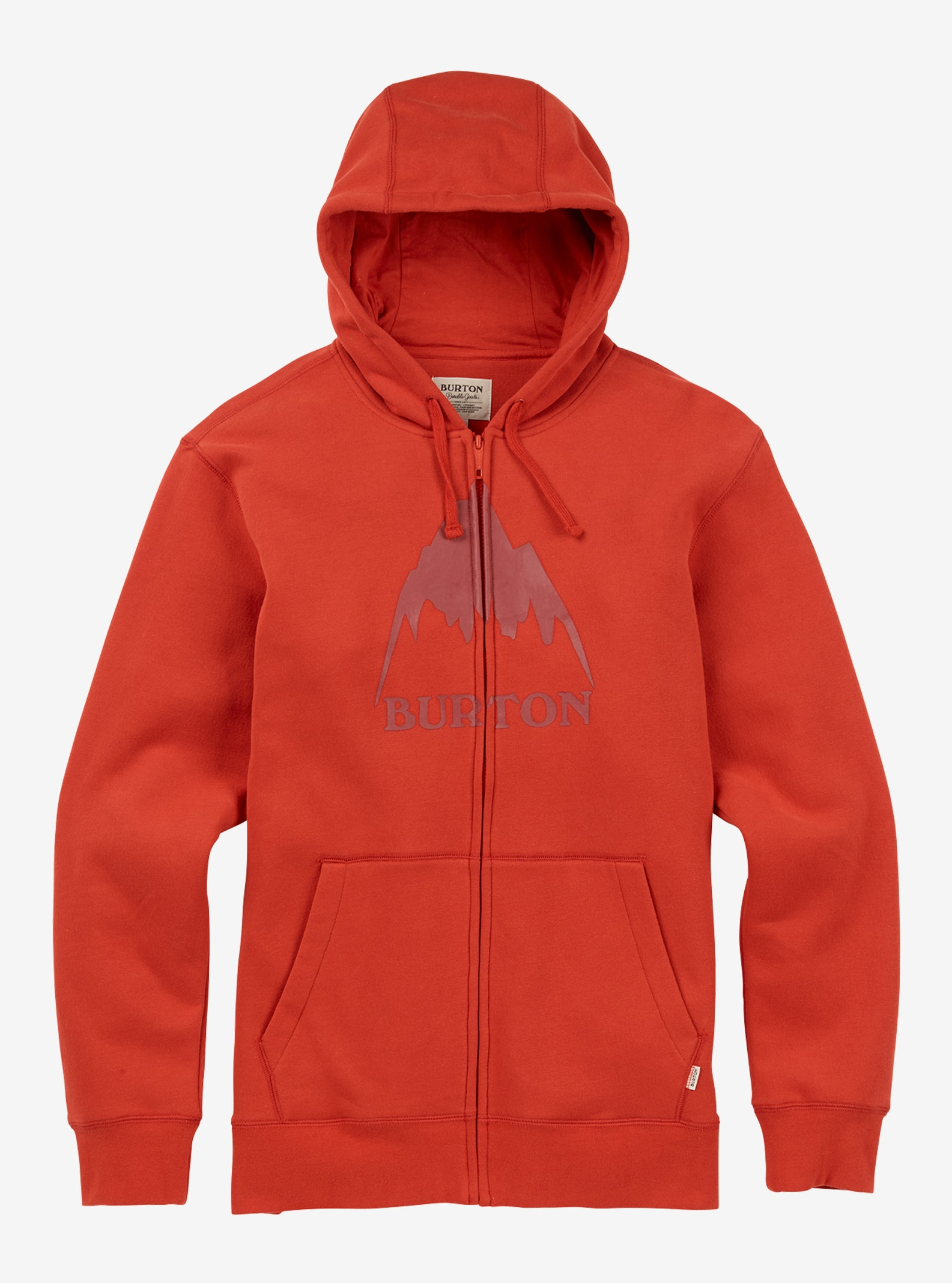 Men's Burton Classic Mountain High Full-Zip Hoodie shown in Bitters