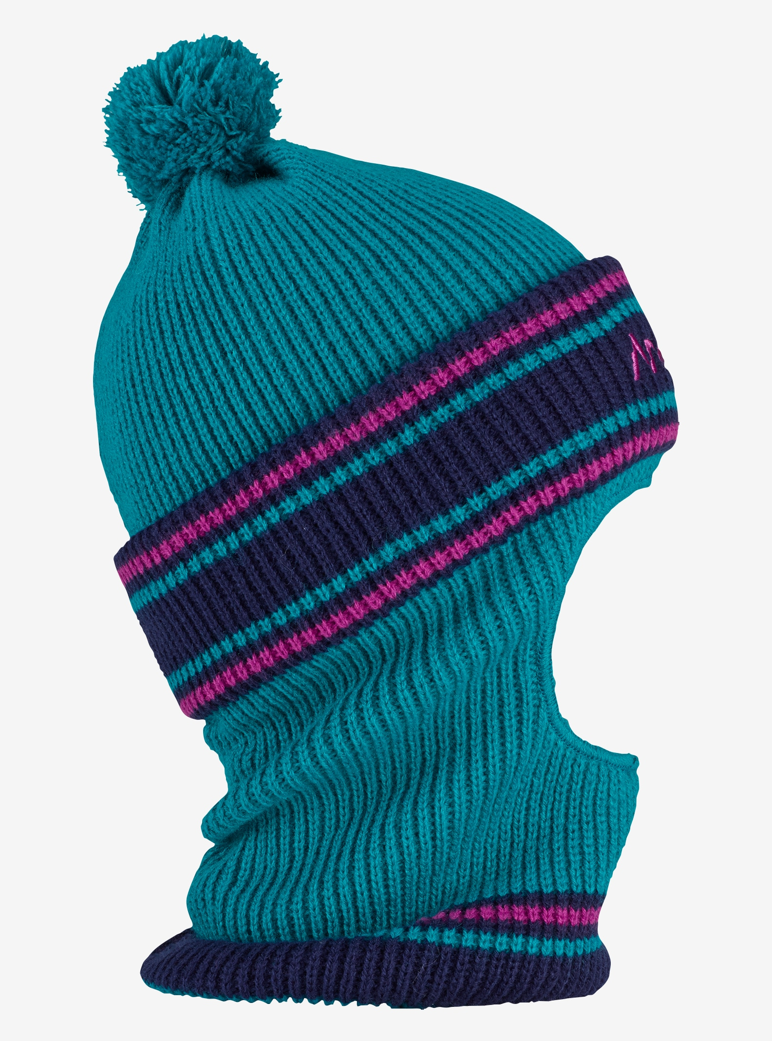 Analog Double D Beanie shown in Blue 107