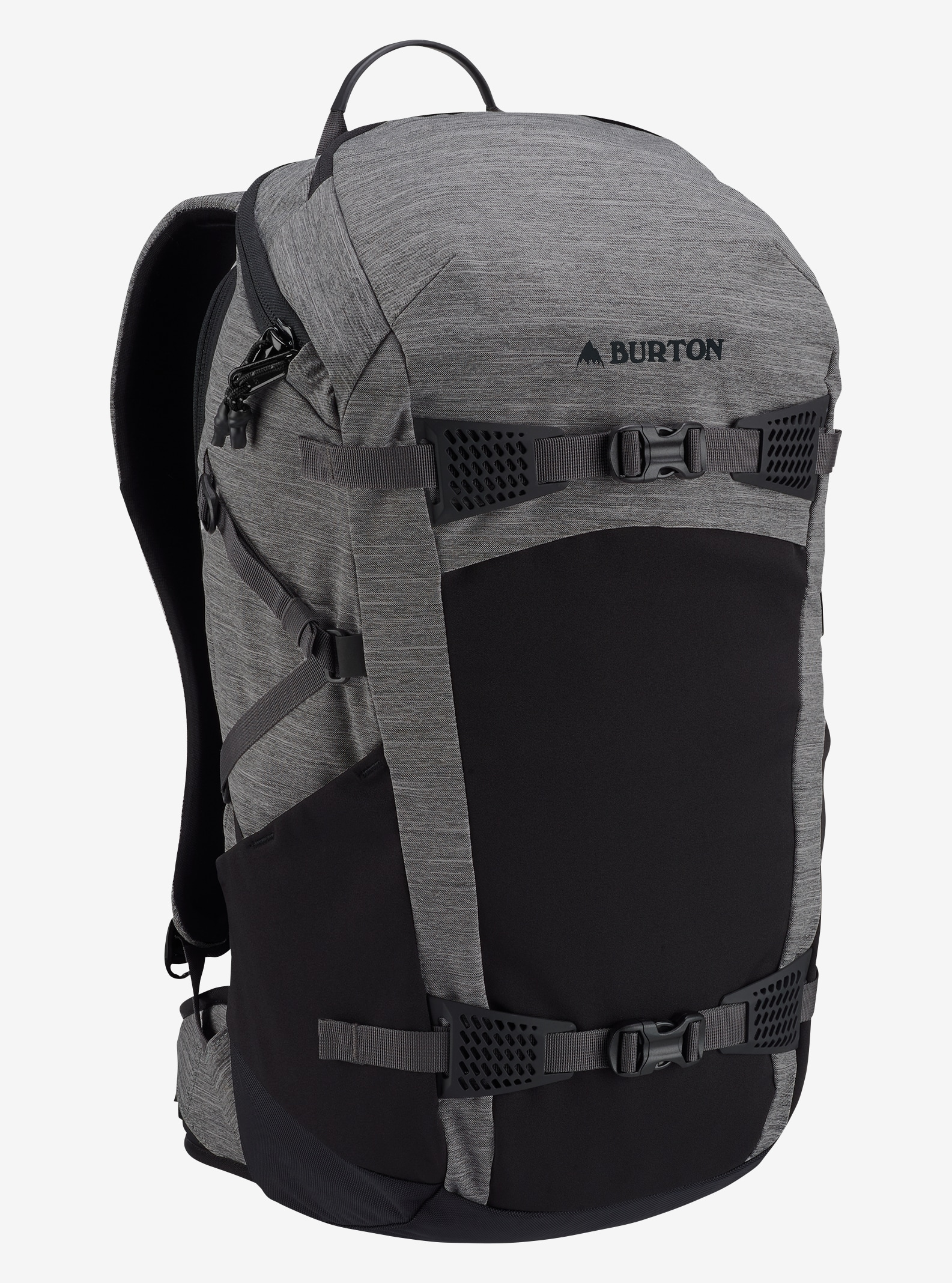 Burton Day Hiker 31L Backpack shown in Shade Heather