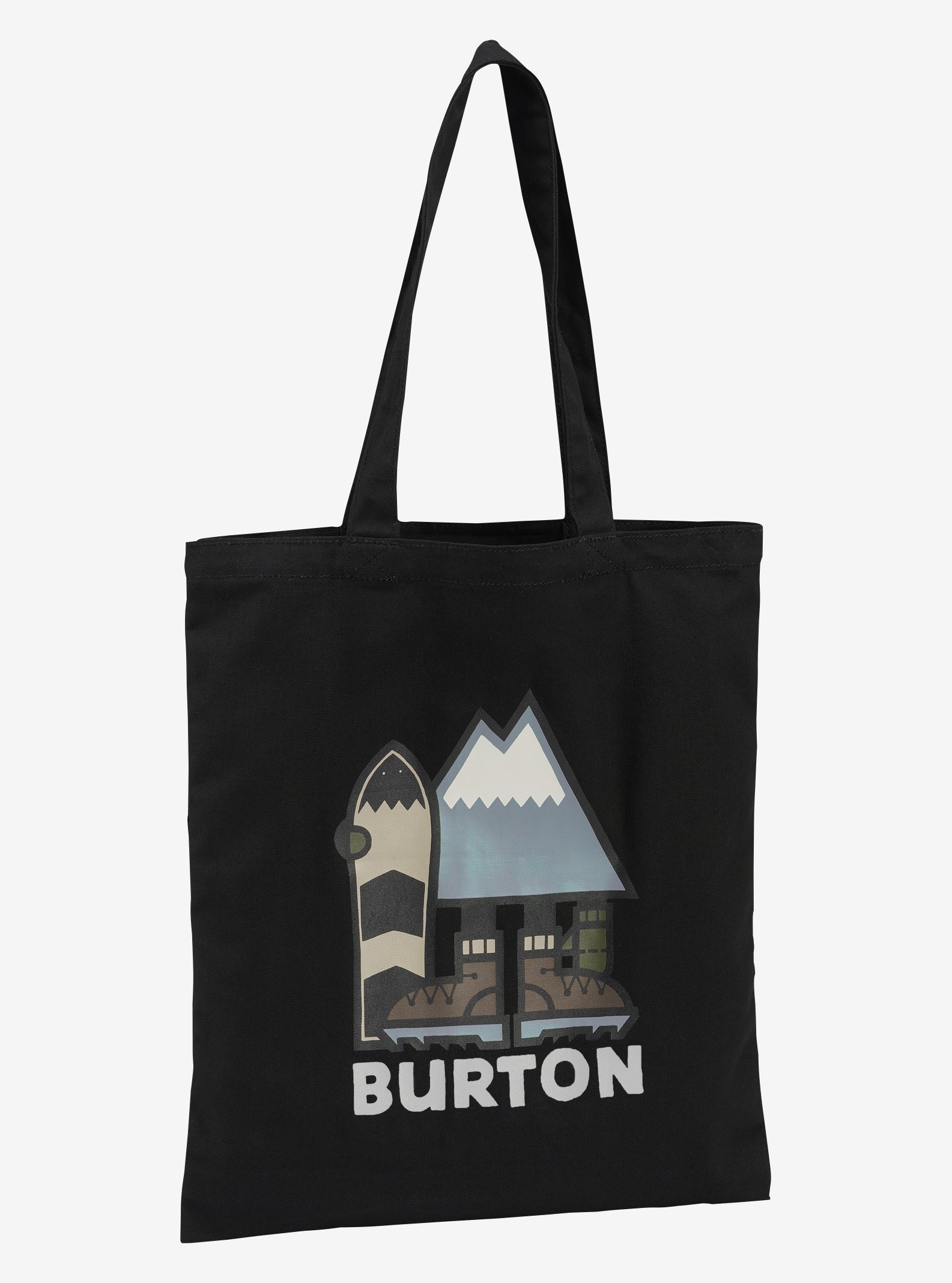 Burton Simple Tote shown in True Black Leary