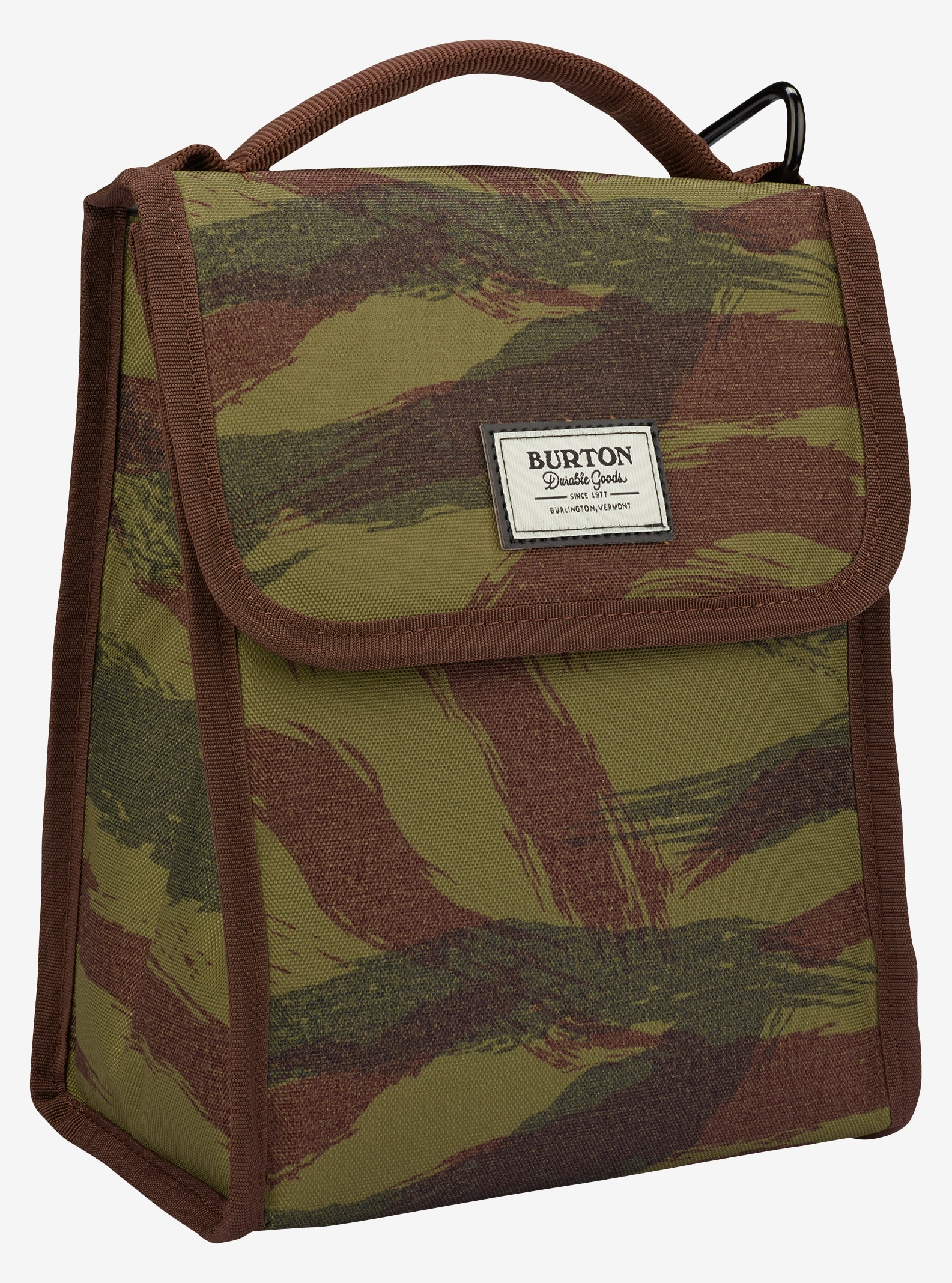 Burton Lunch Sack shown in Brushstroke Camo Print