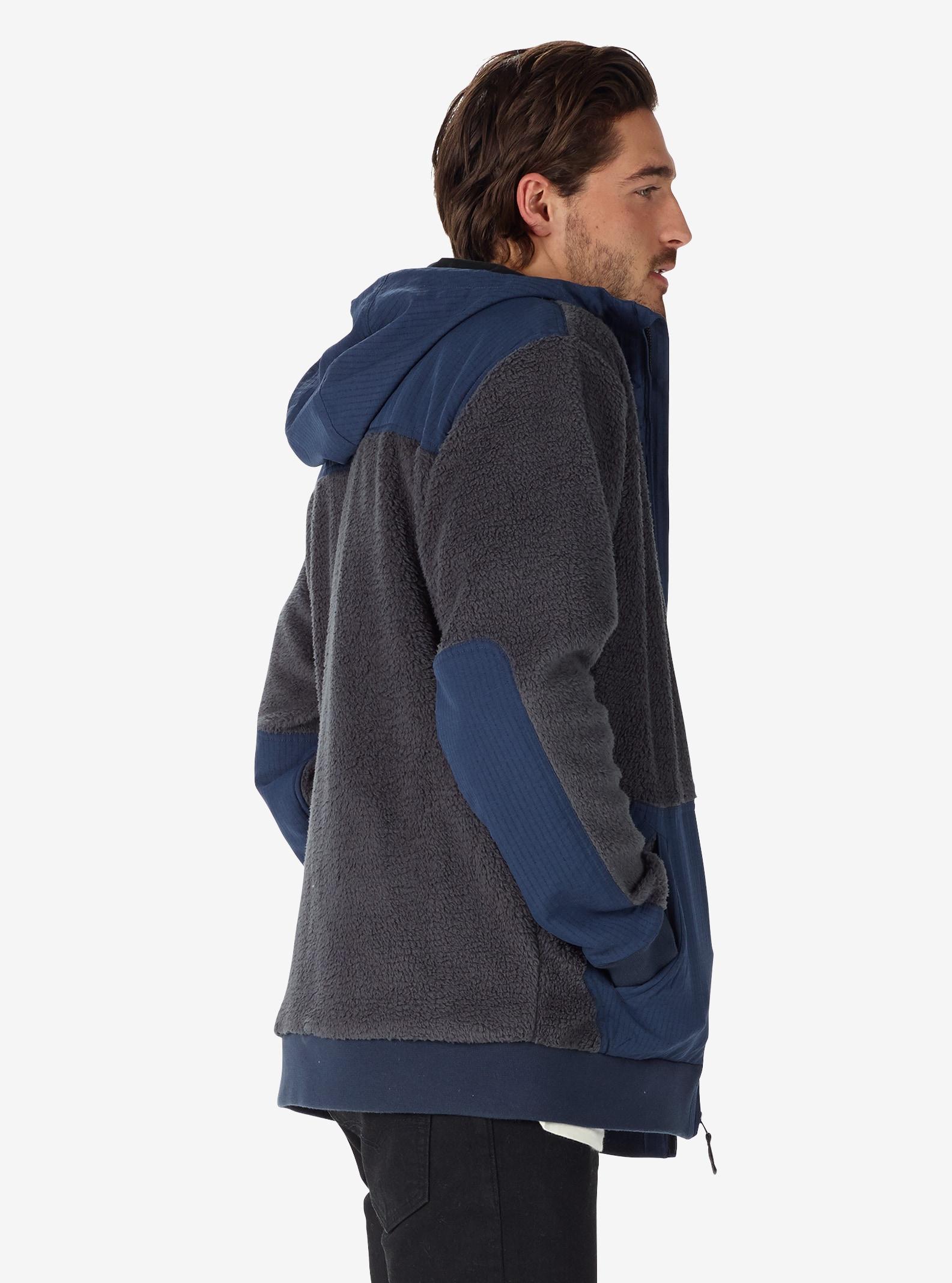 Men's Burton Tribute Full-Zip Fleece shown in Faded