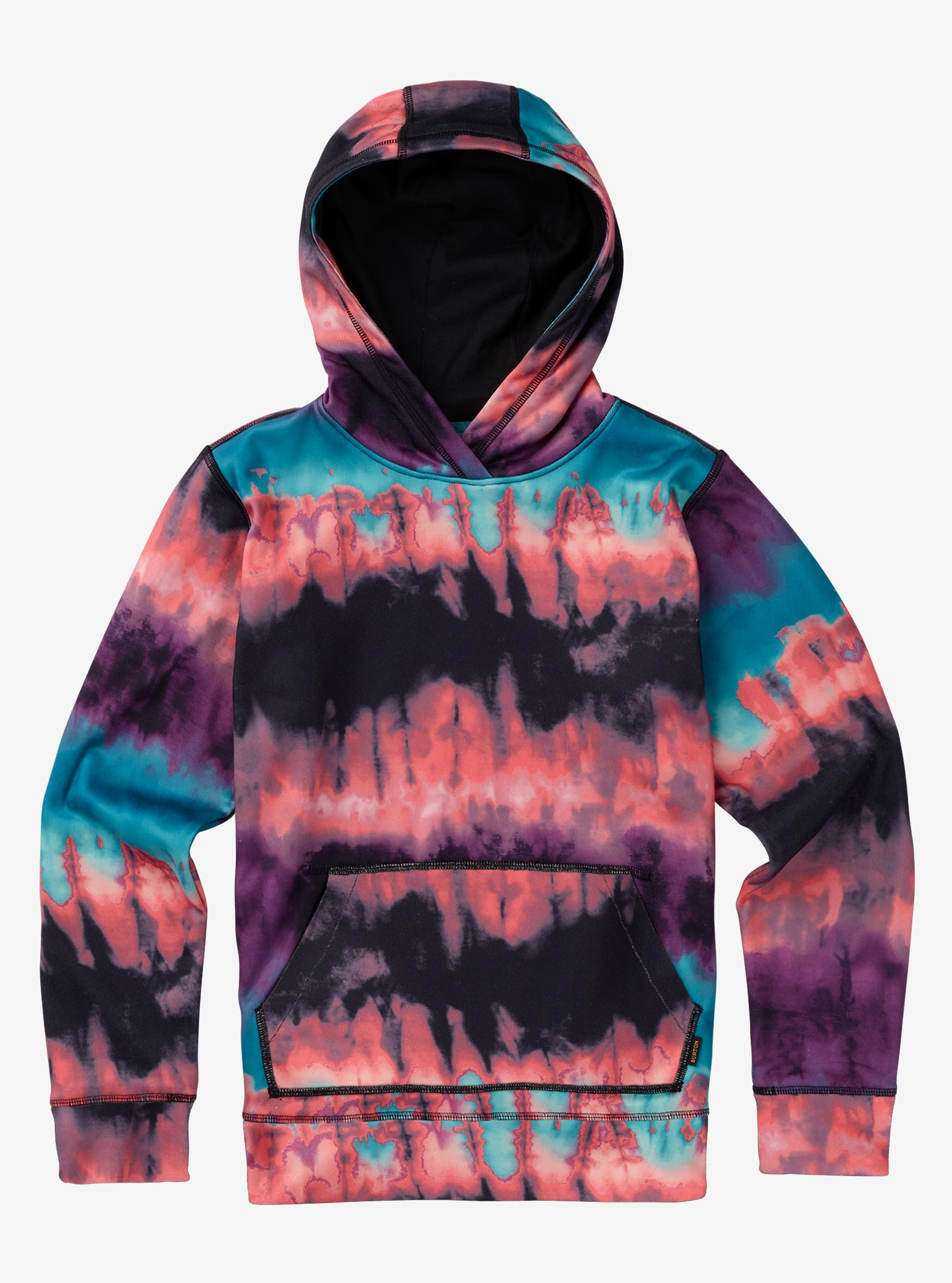 Girls' Burton Phantom Pullover Hoodie shown in Gigit Surf Stripe