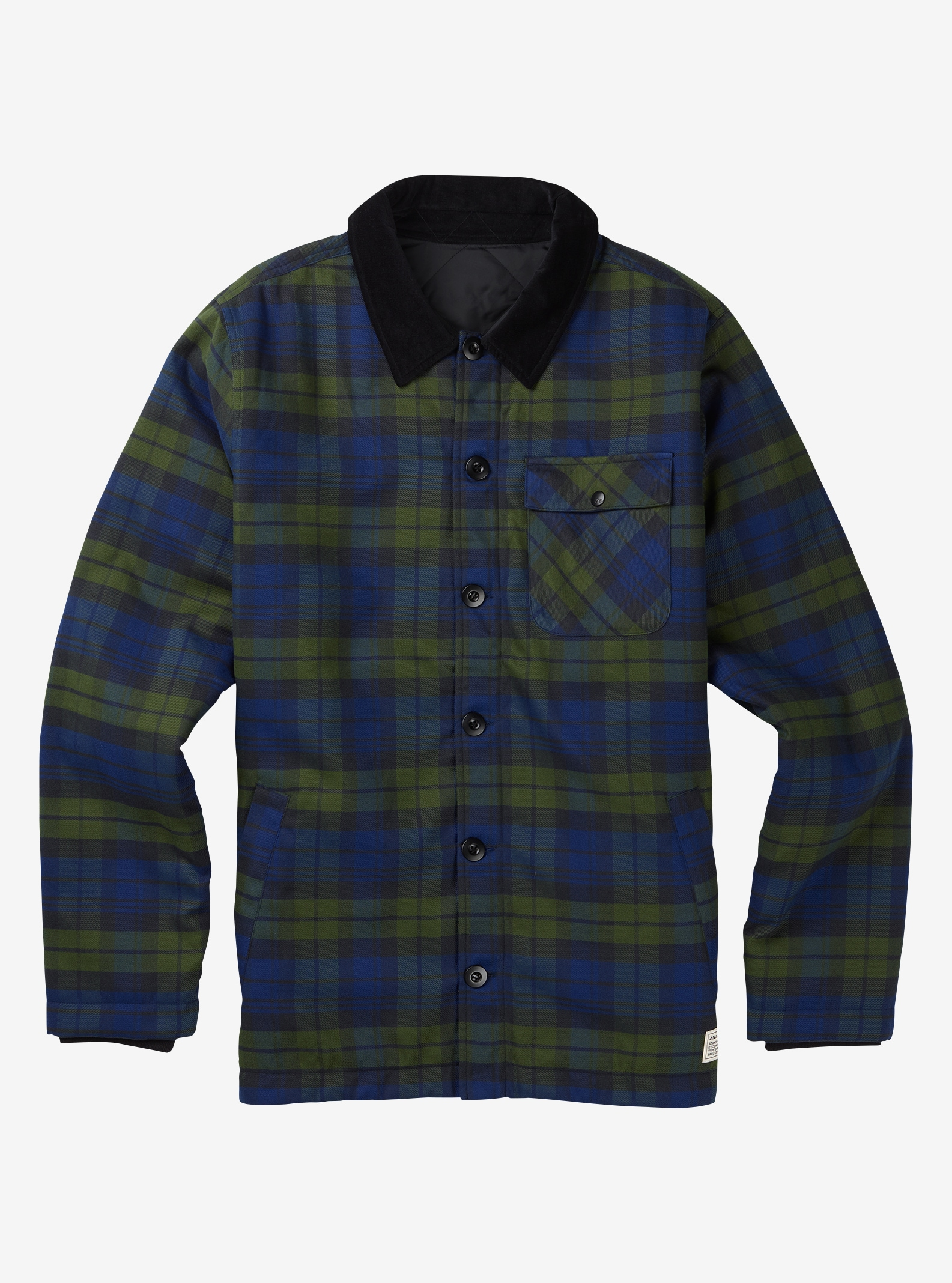 Men's Analog ATF Daily Driver shown in Deflate Gate Union Plaid