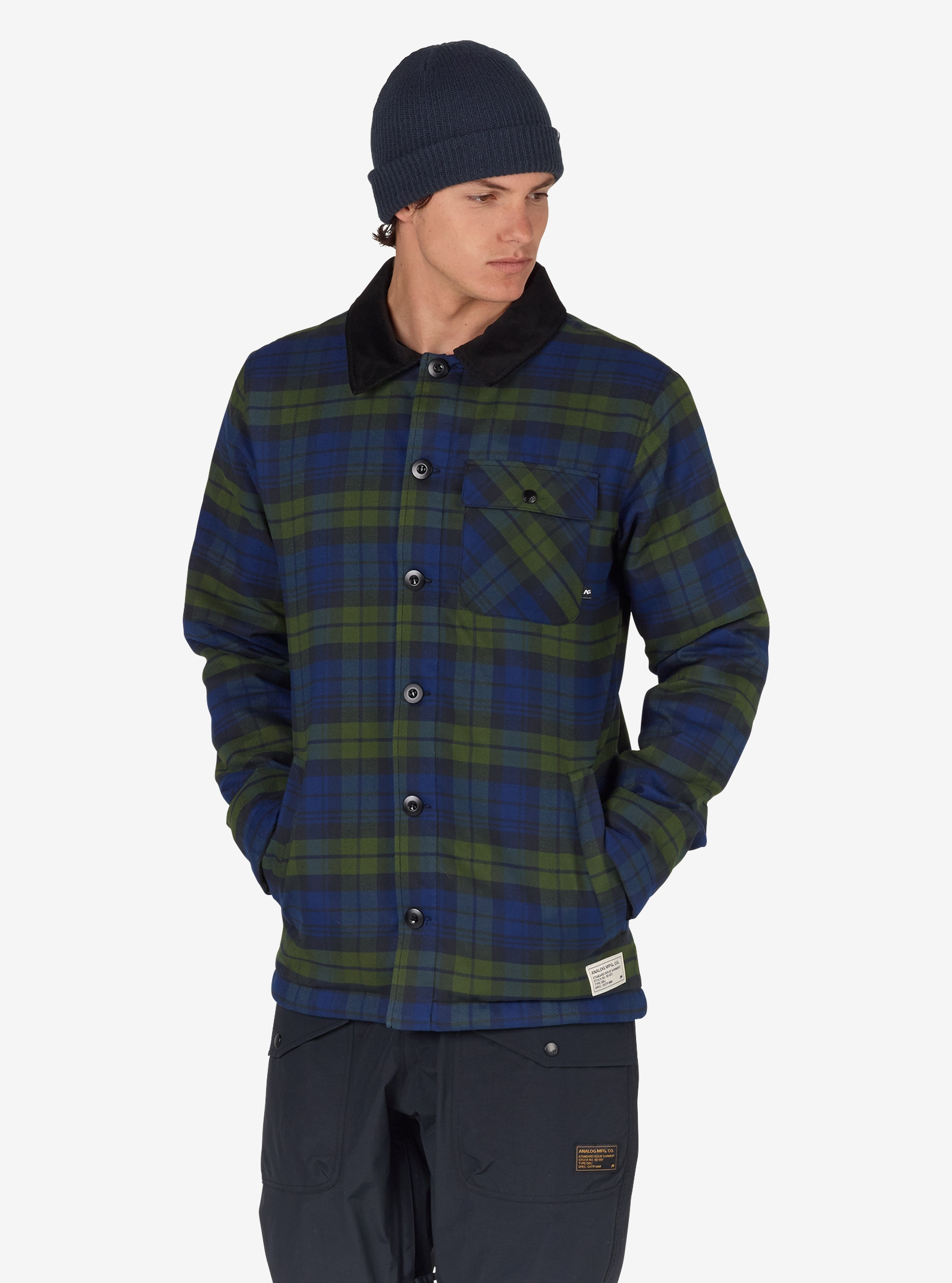 Analog - ATF Daily Driver homme affichage en Deflate Gate Union Plaid