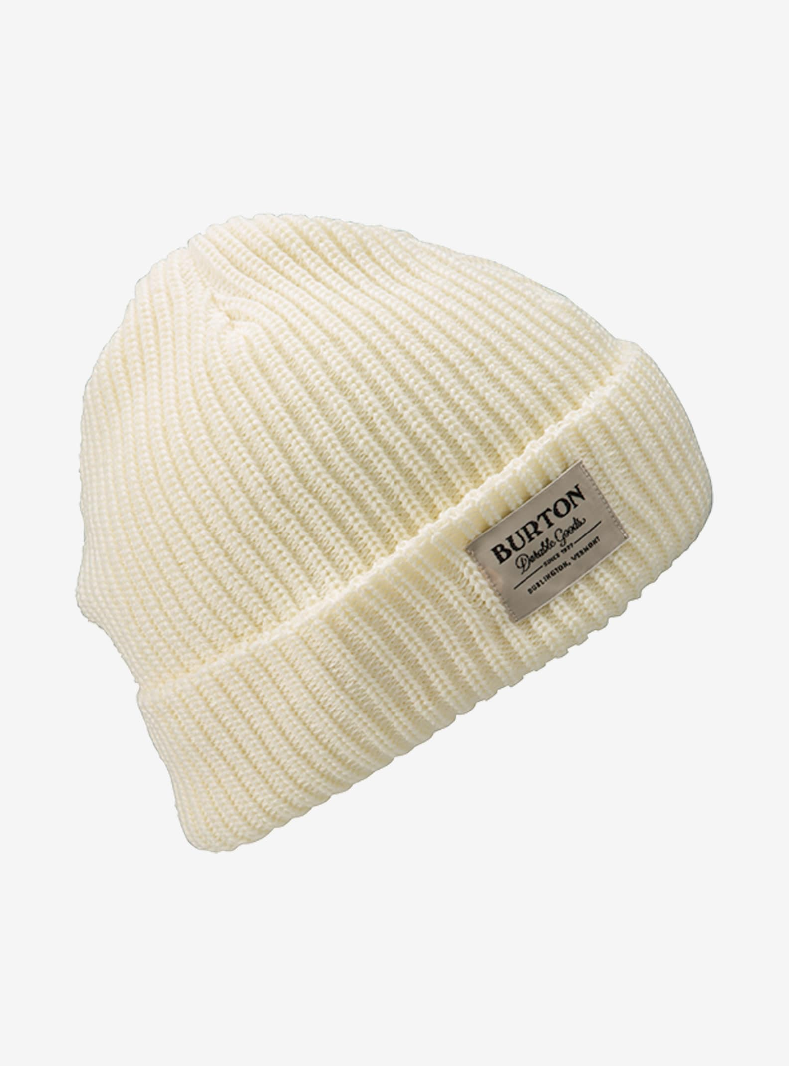 Burton VT. Beanie shown in Canvas
