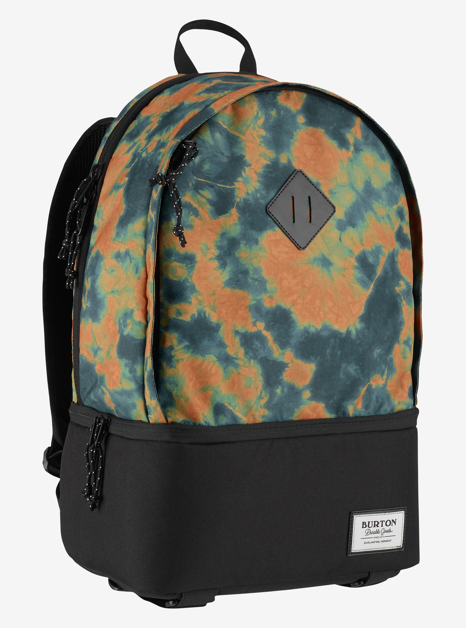 Burton Big Buddy Backpack shown in Mountaineer Tie Dye Print