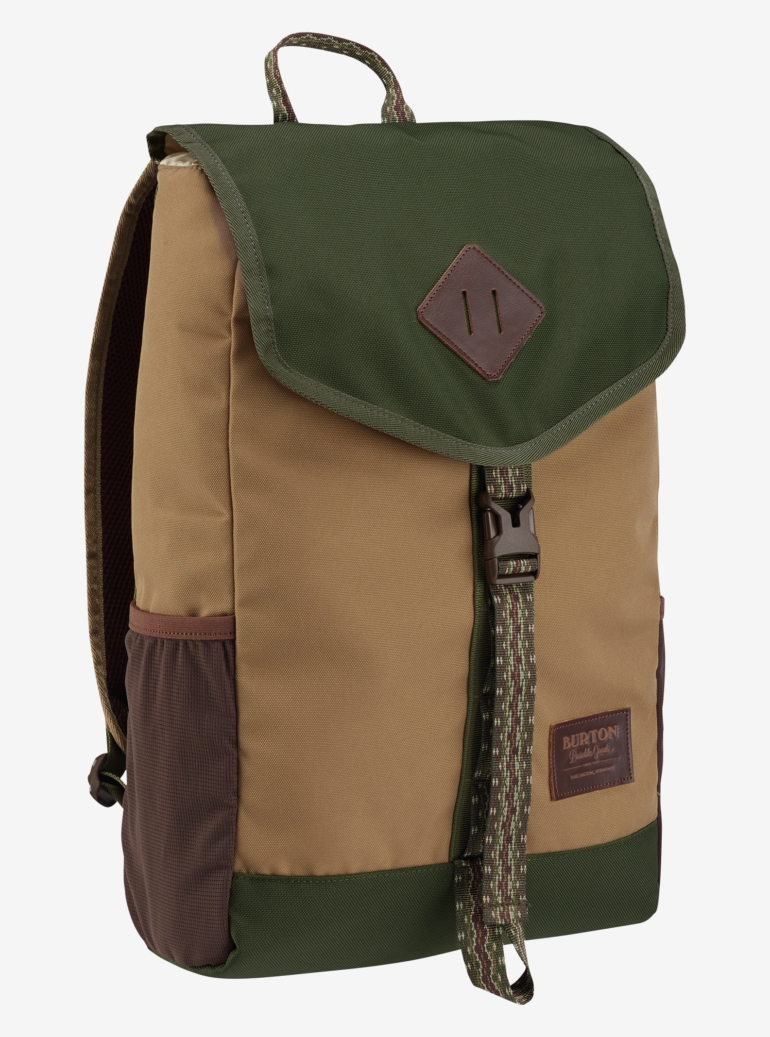 Burton Wesfall Backpack shown in Kelp Coated