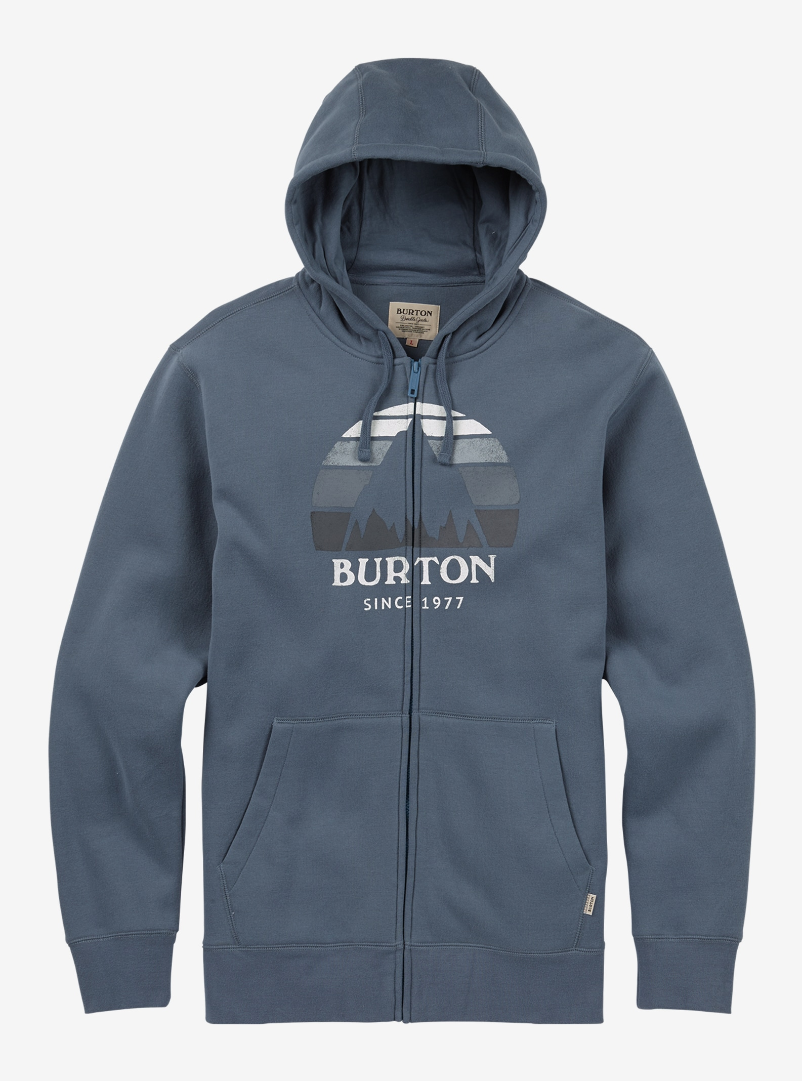 Men's Burton Underhill Full-Zip Hoodie shown in LA Sky
