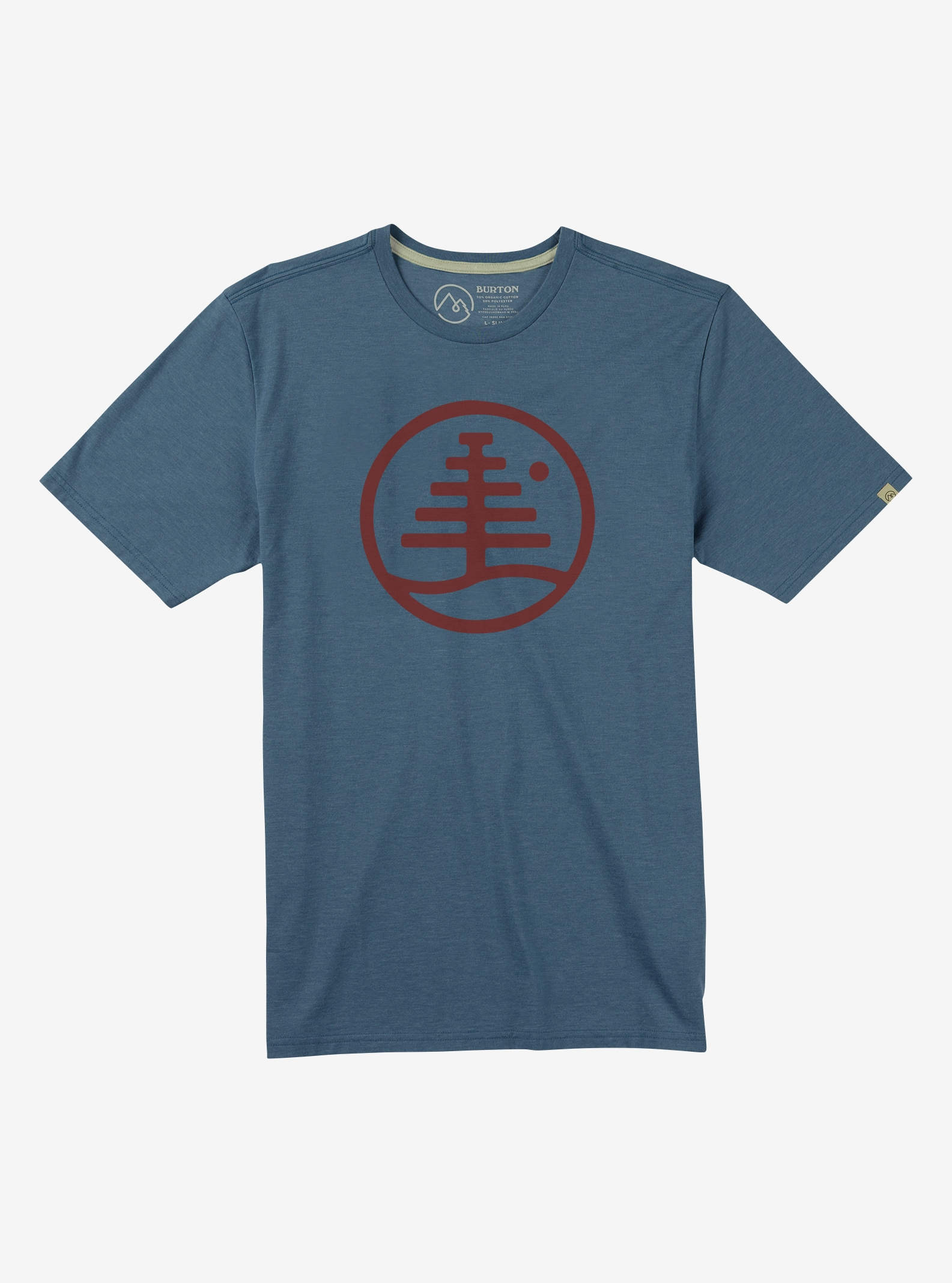 Men's Burton Family Tree Short Sleeve T Shirt shown in LA Sky