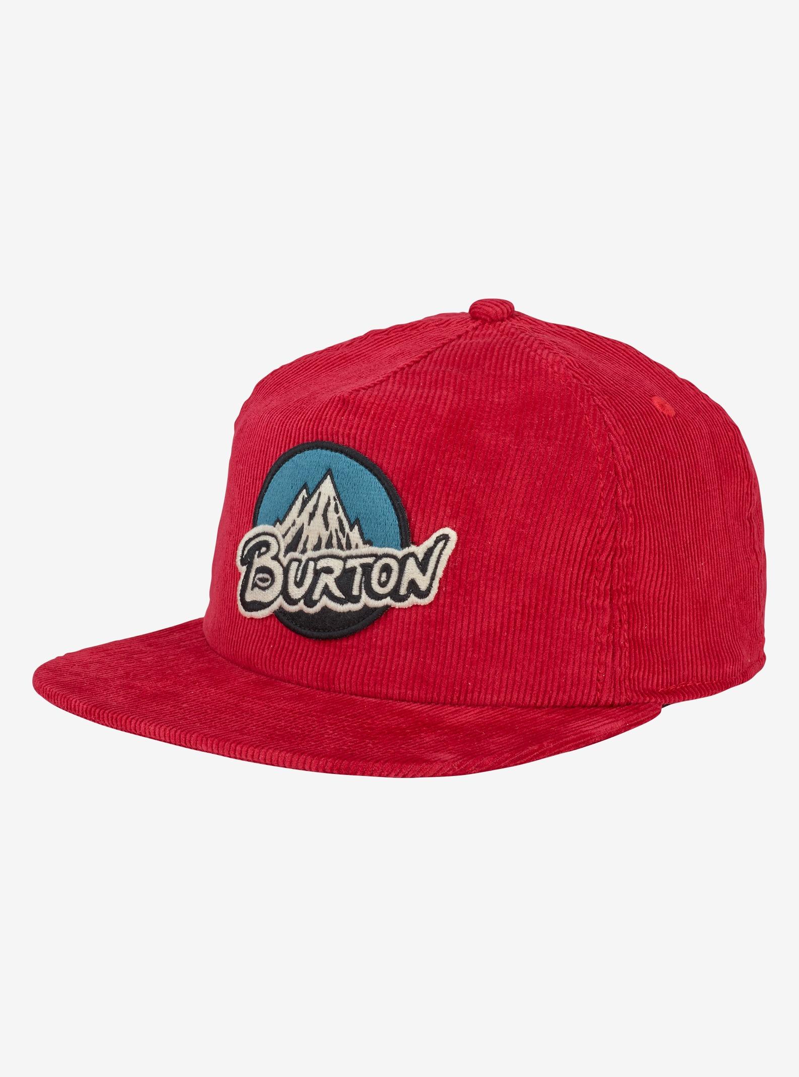 Boys' Burton Retro Mountain Hat shown in Fiery Red
