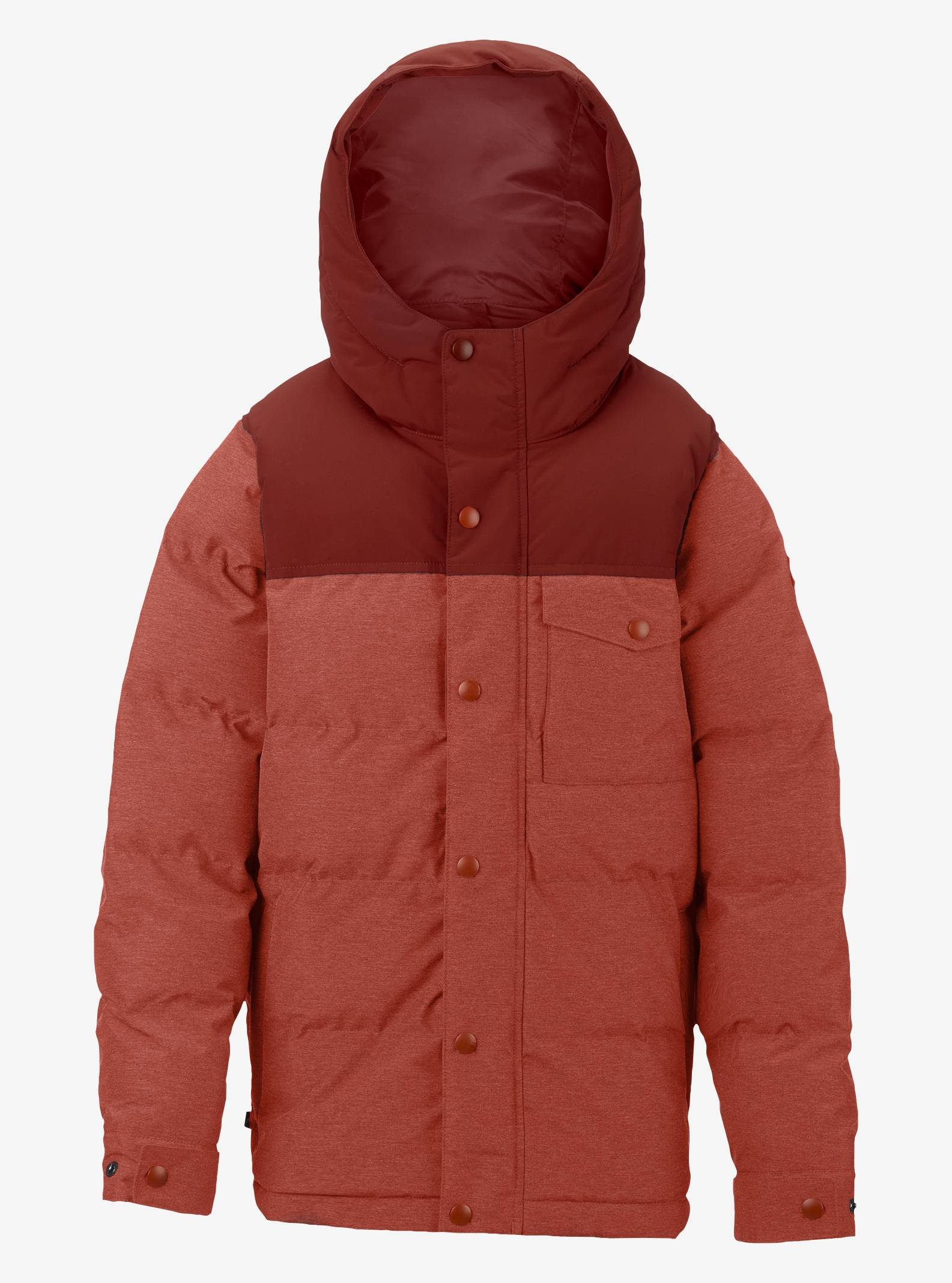 Boys' Burton Barnone Jacket shown in Bitters / Fired Brick