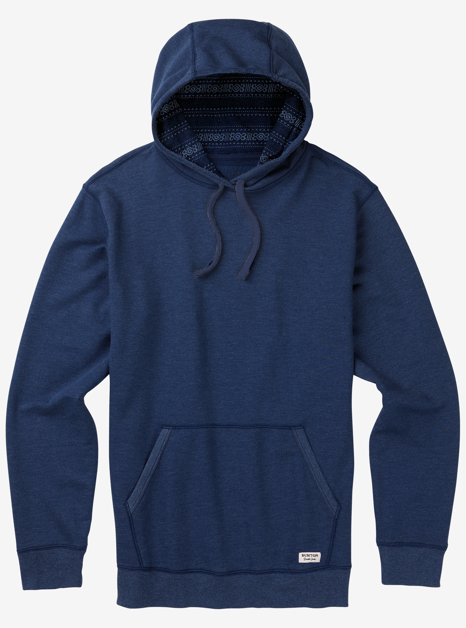 Men's Burton Subvert Pullover Hoodie shown in Mood Indigo