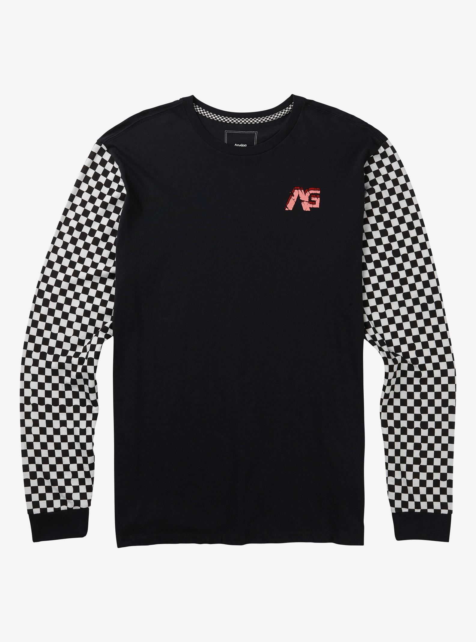 Men's Analog Rockaway Long Sleeve T Shirt shown in True Black