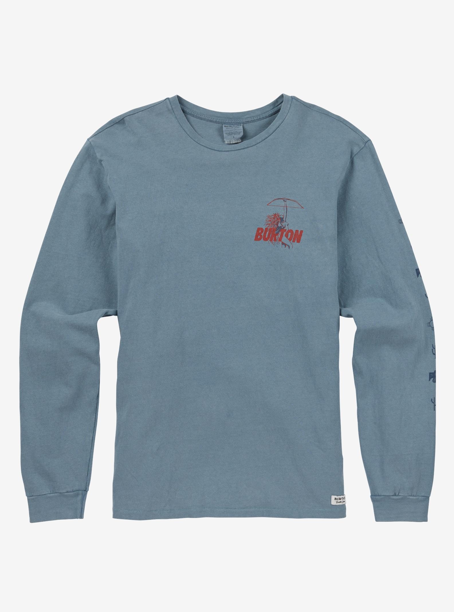 Men's Burton Walker Long Sleeve T Shirt shown in Winter Sky